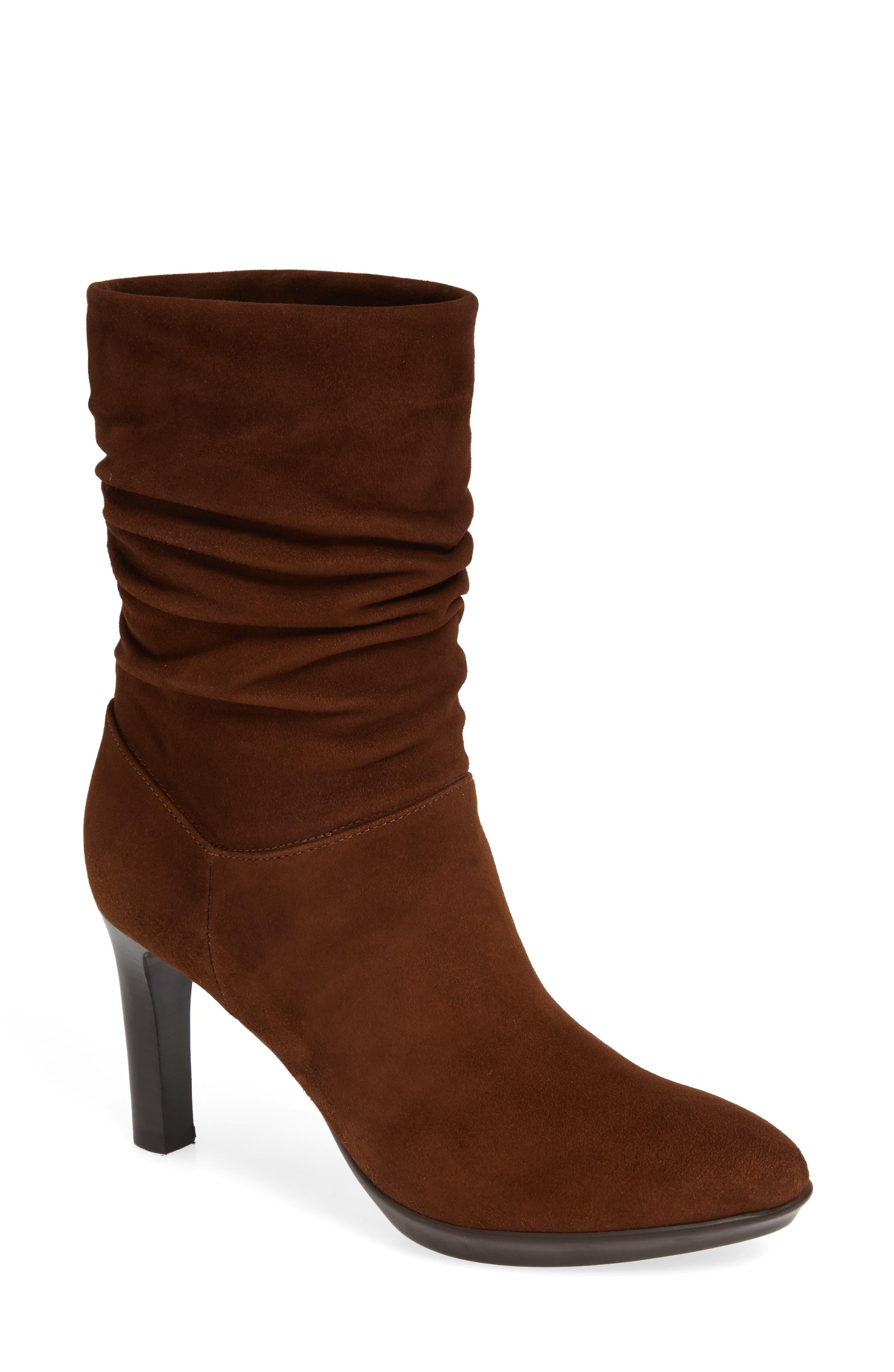 Aquatalia Raegan Weatherproof Boot, Brown