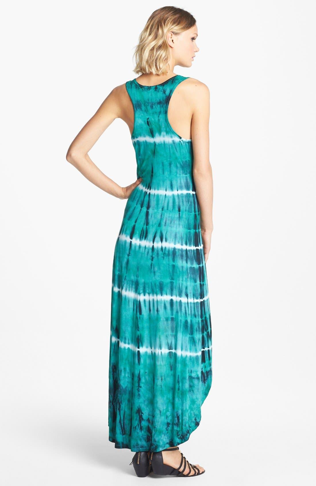 'Ivy' Tie Dye Maxi Dress,                             Alternate thumbnail 3, color,                             319