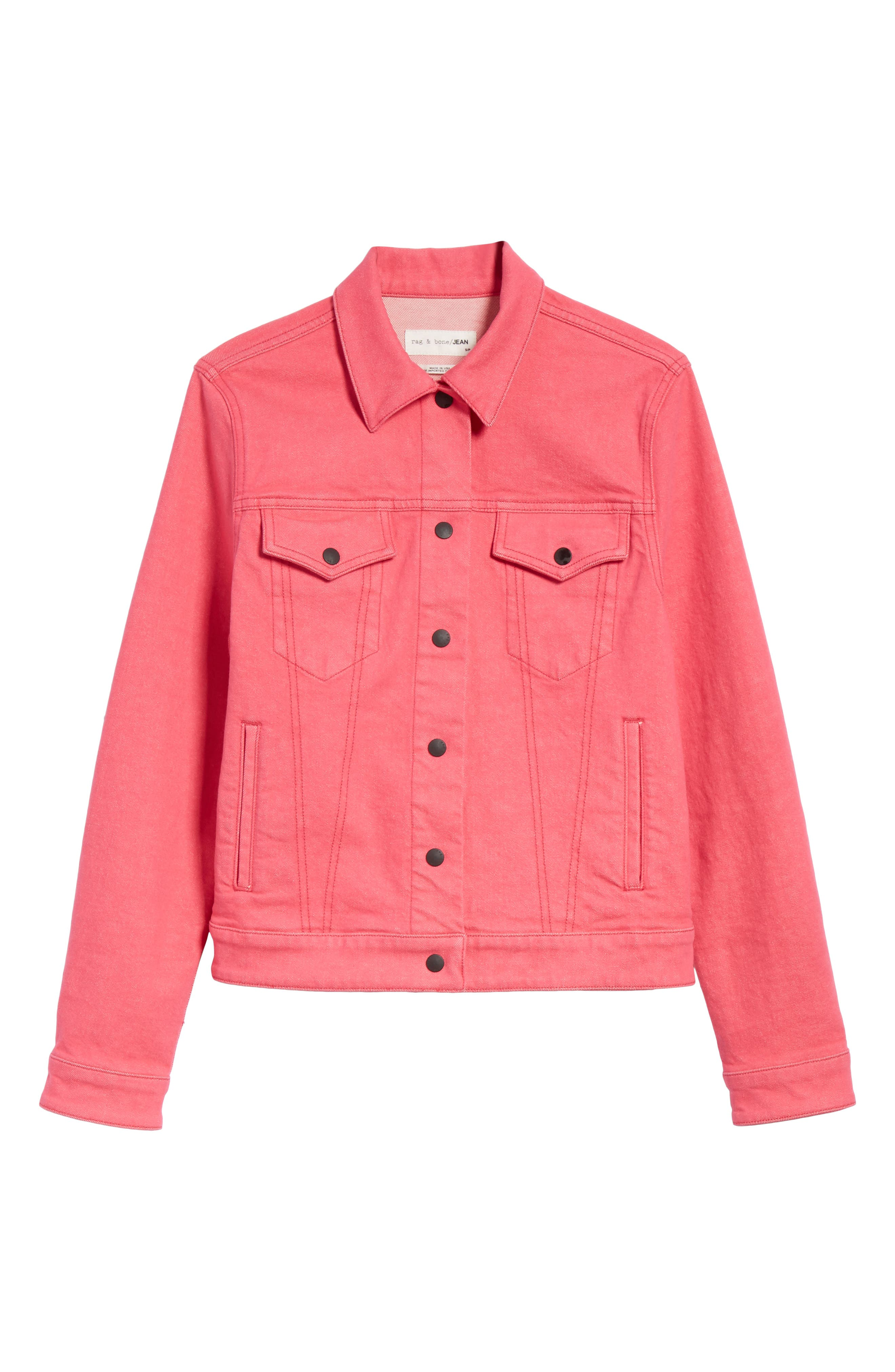 Nico Denim Jacket,                             Alternate thumbnail 5, color,                             672