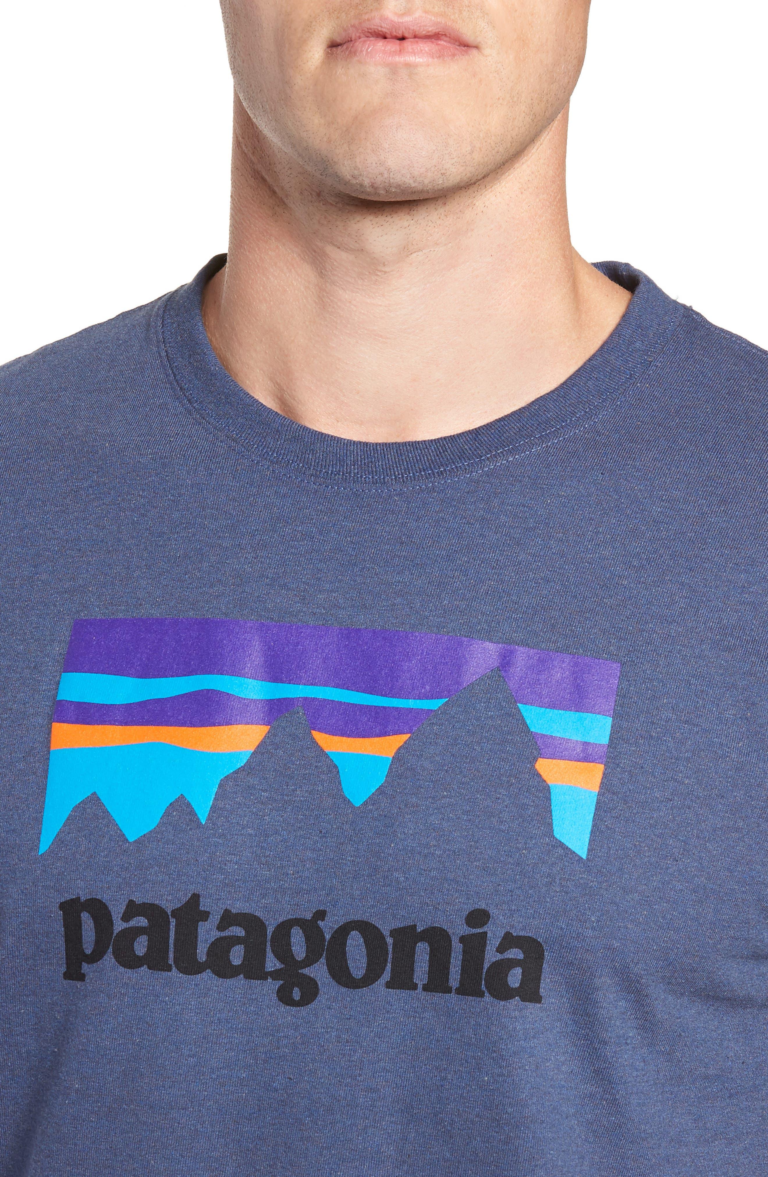 Shop Sticker Responsibili-Tee T-Shirt,                             Alternate thumbnail 4, color,                             DOLOMITE BLUE