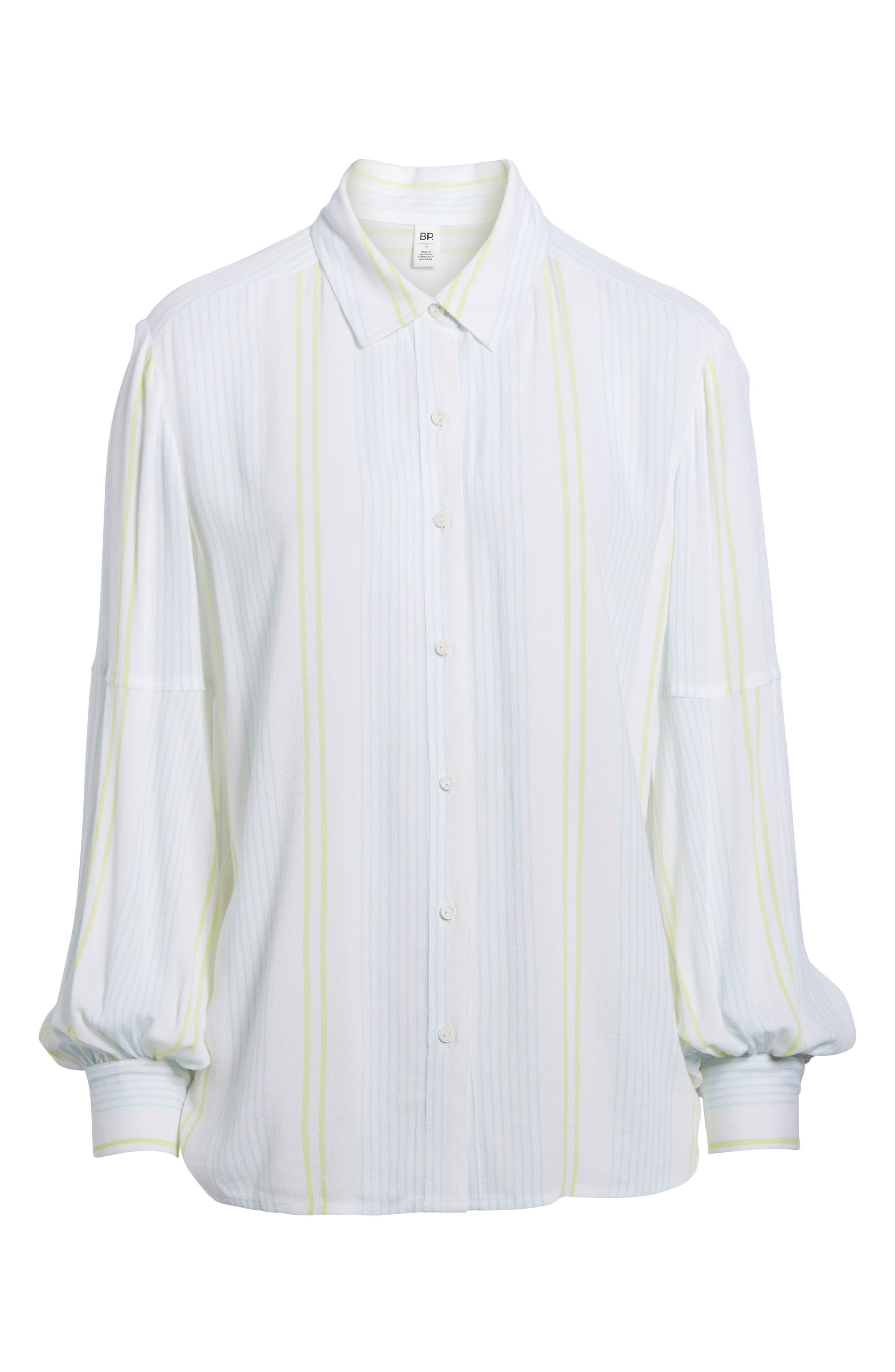 Blouson Sleeve Shirt,                             Alternate thumbnail 6, color,                             101