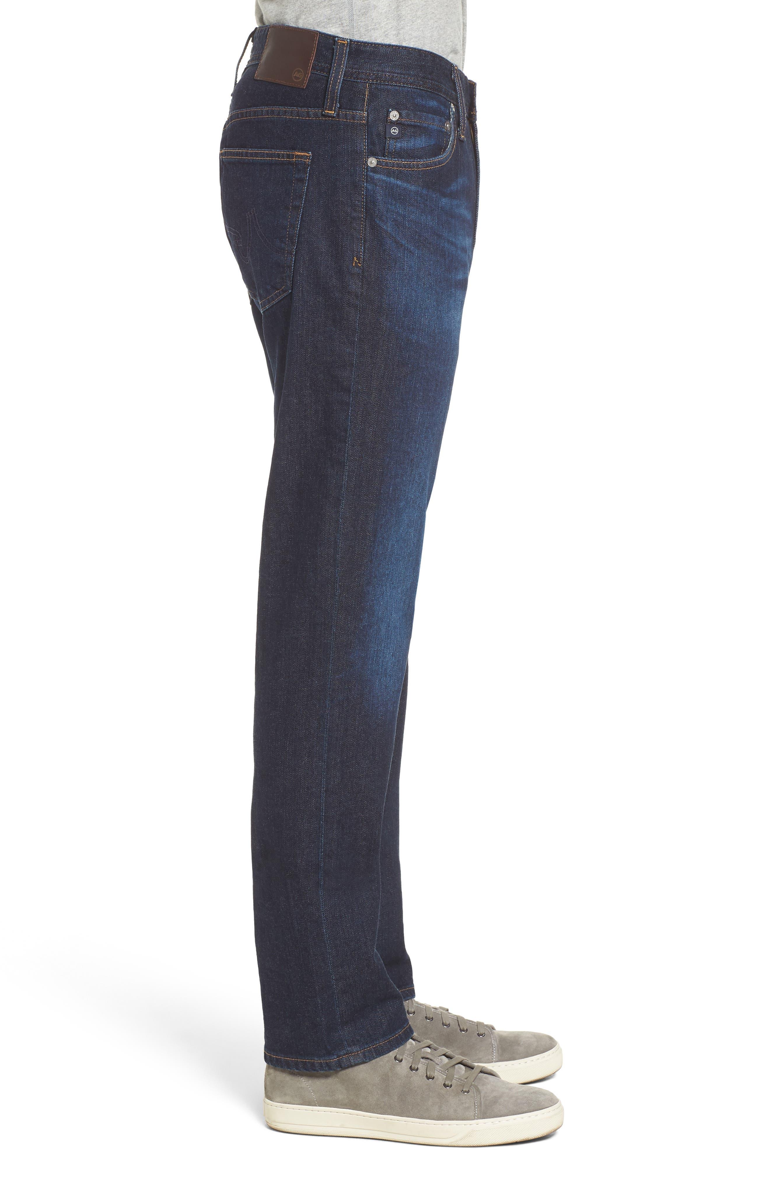Everett Slim Straight Leg Jeans,                             Alternate thumbnail 3, color,                             409