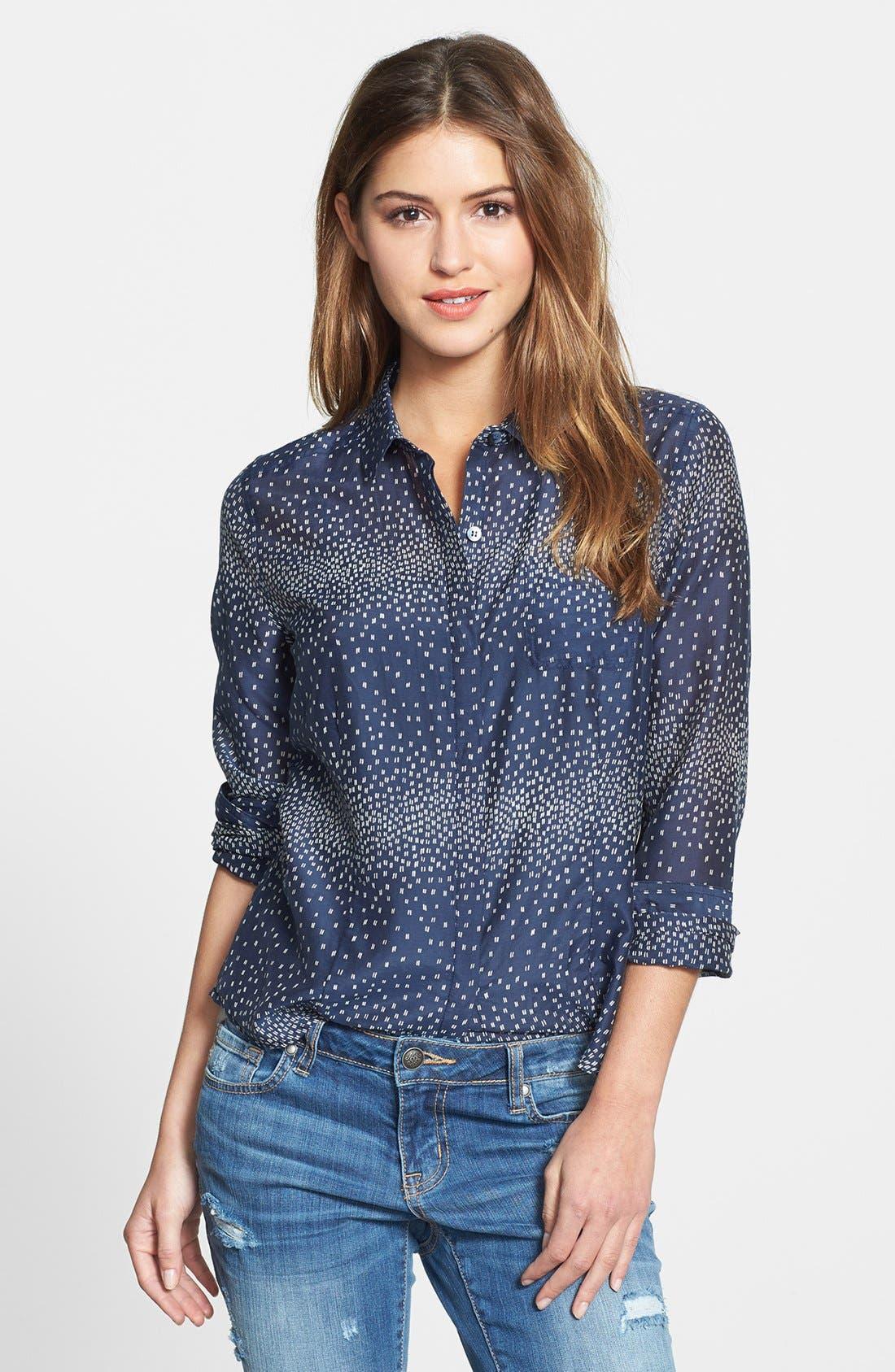 Cotton & Silk Shirt,                             Main thumbnail 22, color,