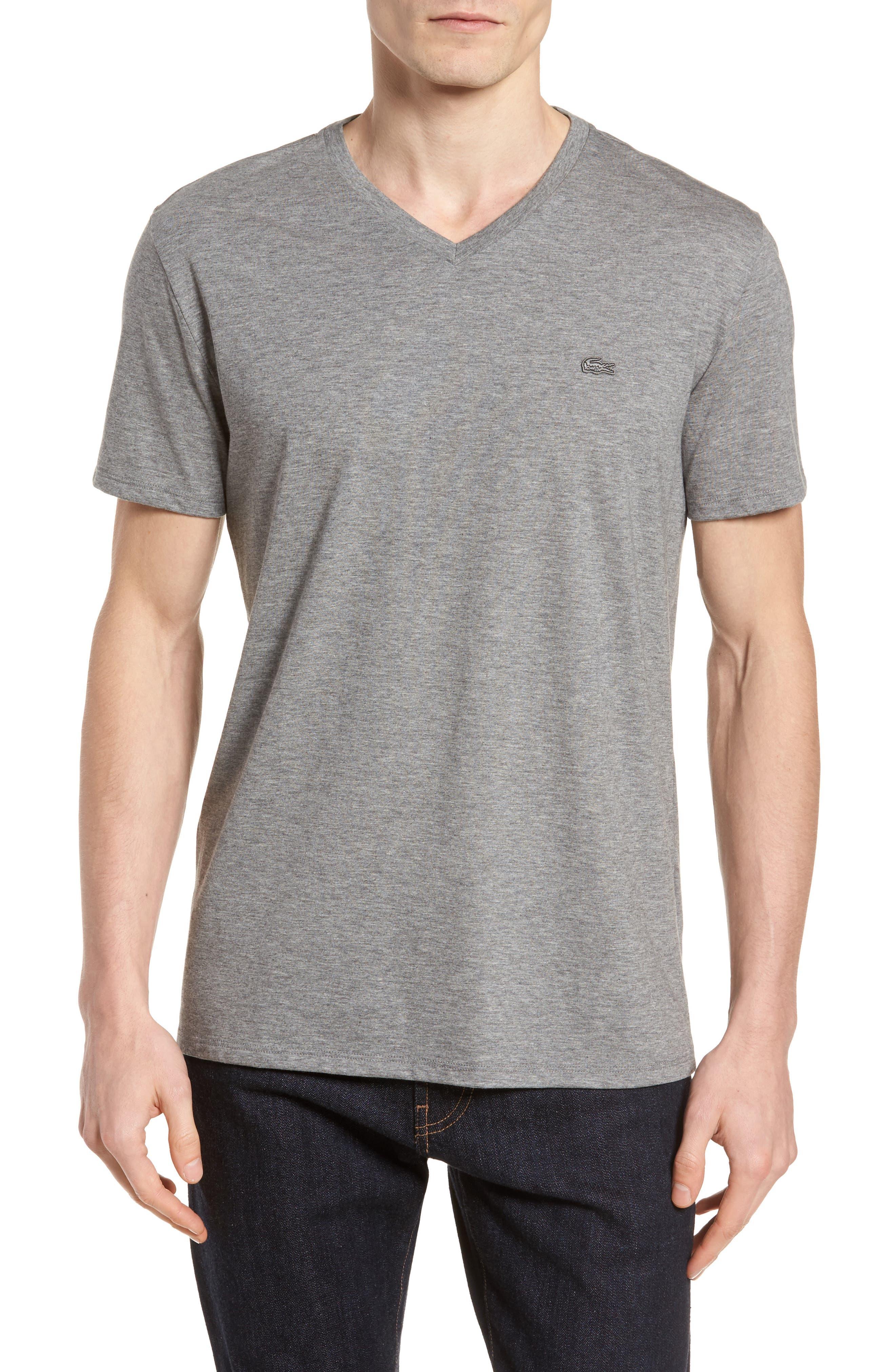 Pima Cotton T-Shirt,                         Main,                         color, GALAXITE CHINE