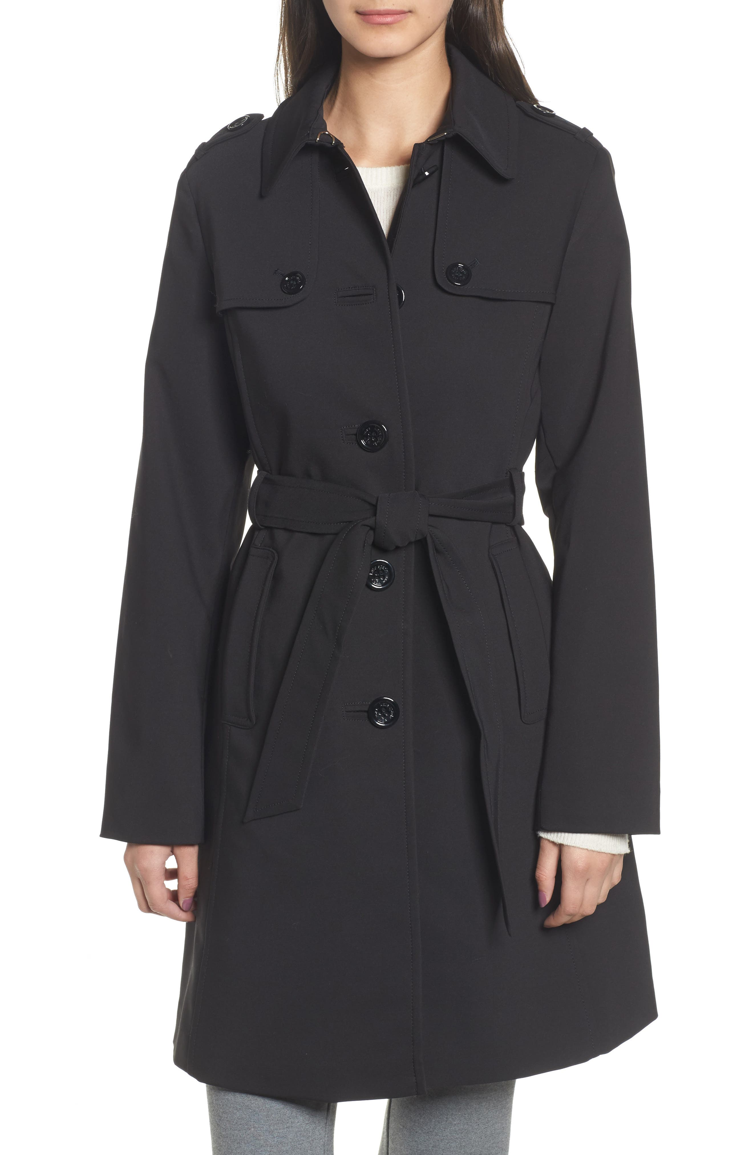 3-in-1 trench coat,                             Alternate thumbnail 4, color,                             001