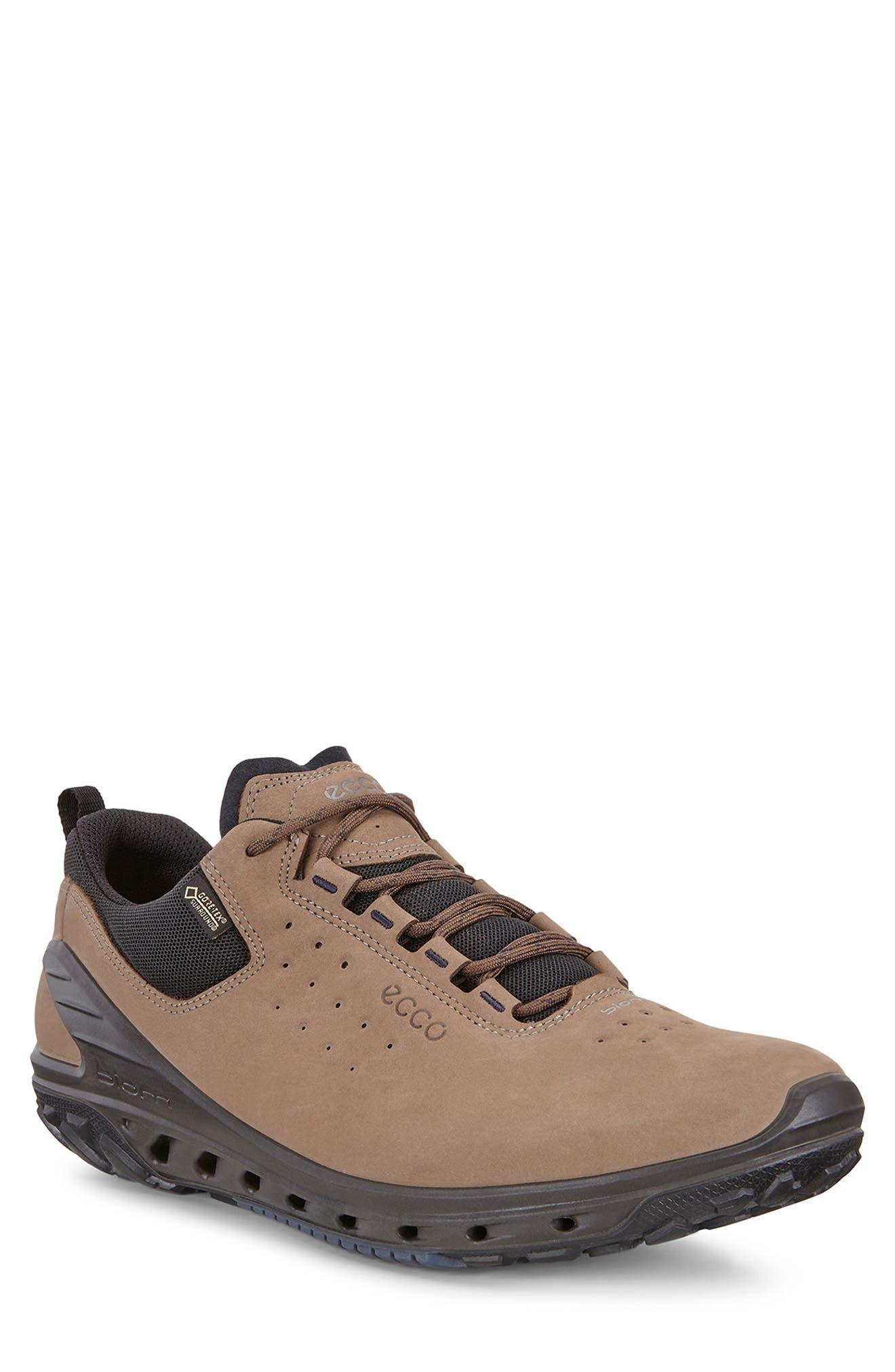 Biom Venture GTX Sneaker,                             Main thumbnail 1, color,                             BIRCH BROWN LEATHER