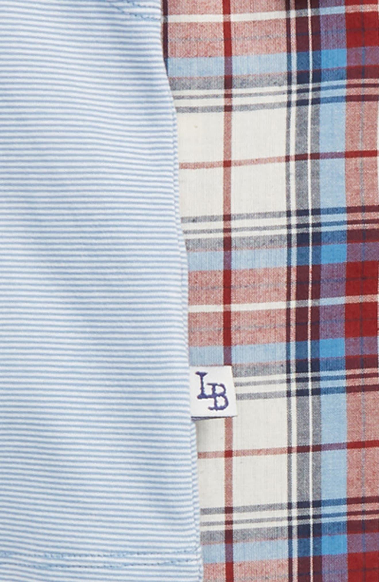 Plaid Shirt, Tank Top & Shorts Set,                             Alternate thumbnail 2, color,                             400