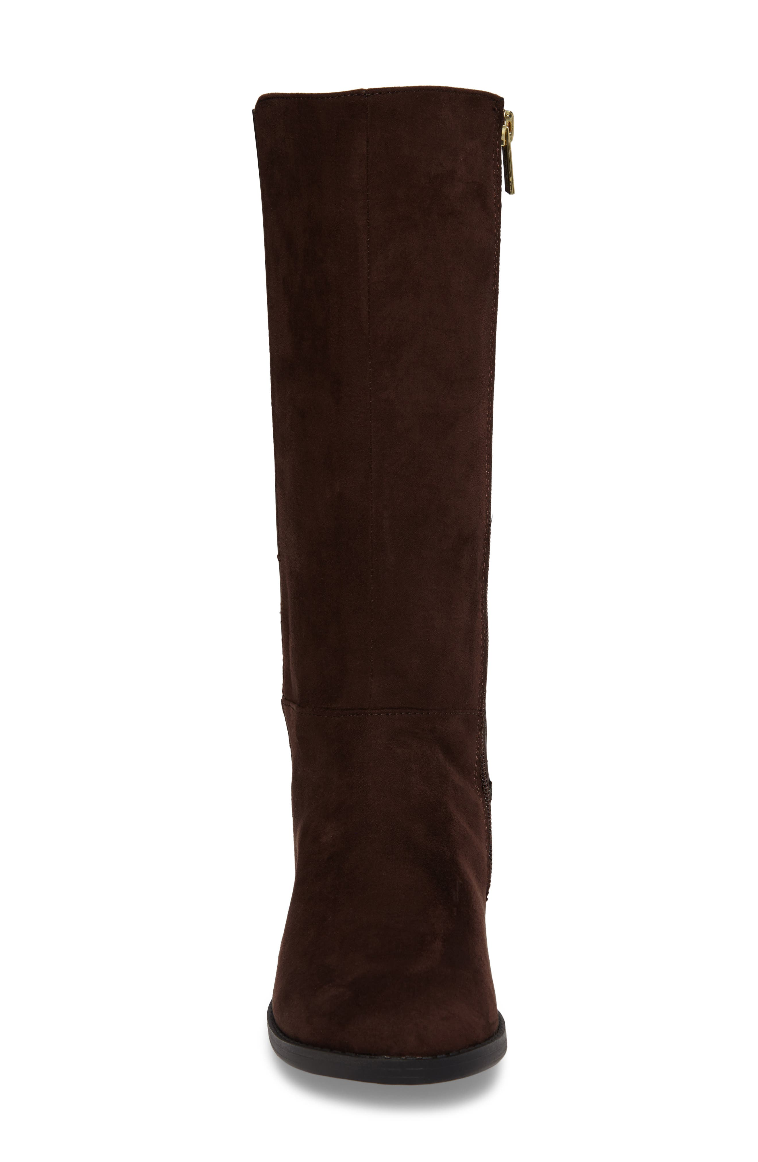 Kennedy Pleated Riding Boot,                             Alternate thumbnail 8, color,