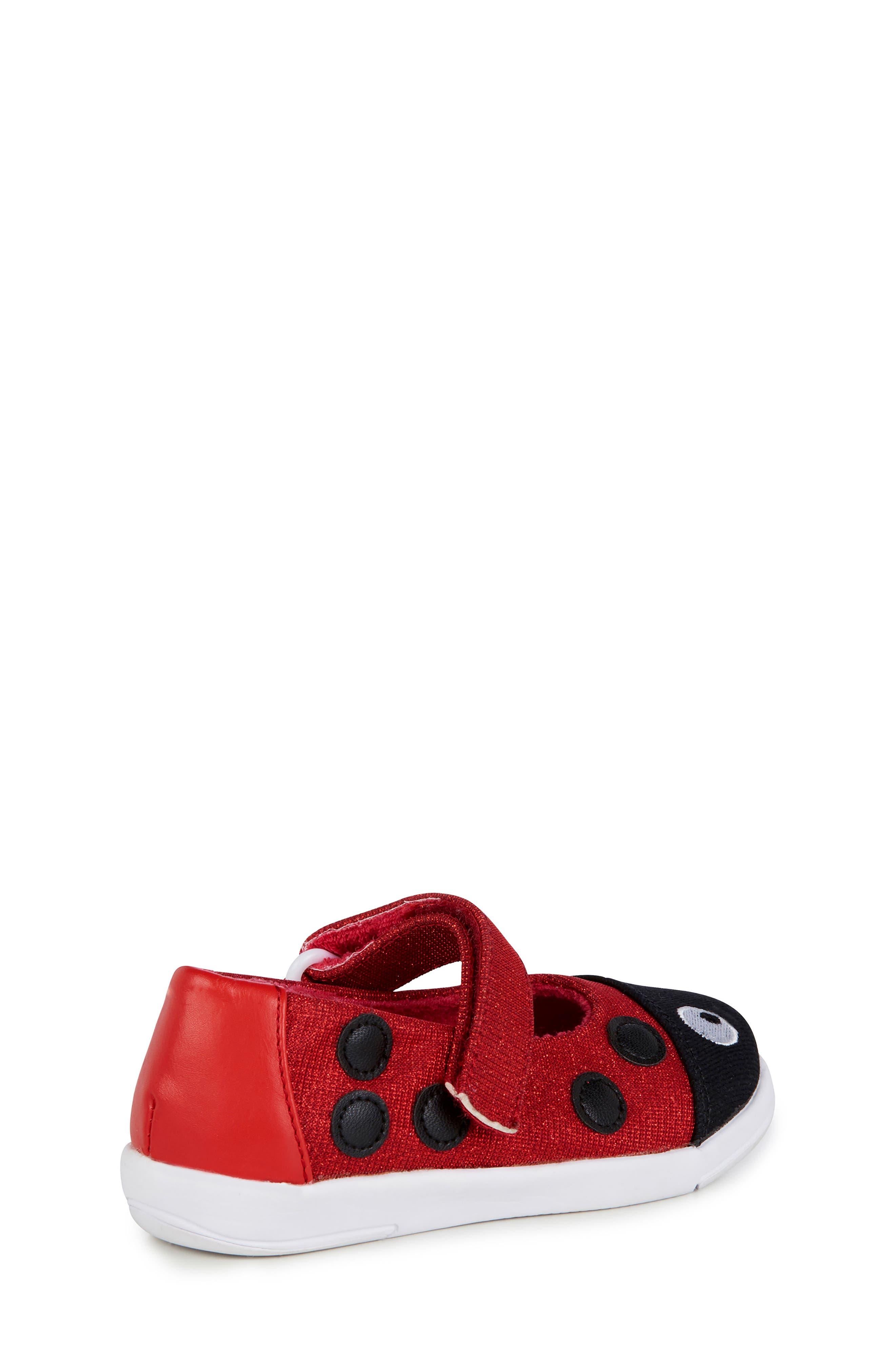 Ladybug Mary Jane,                             Alternate thumbnail 2, color,                             RED