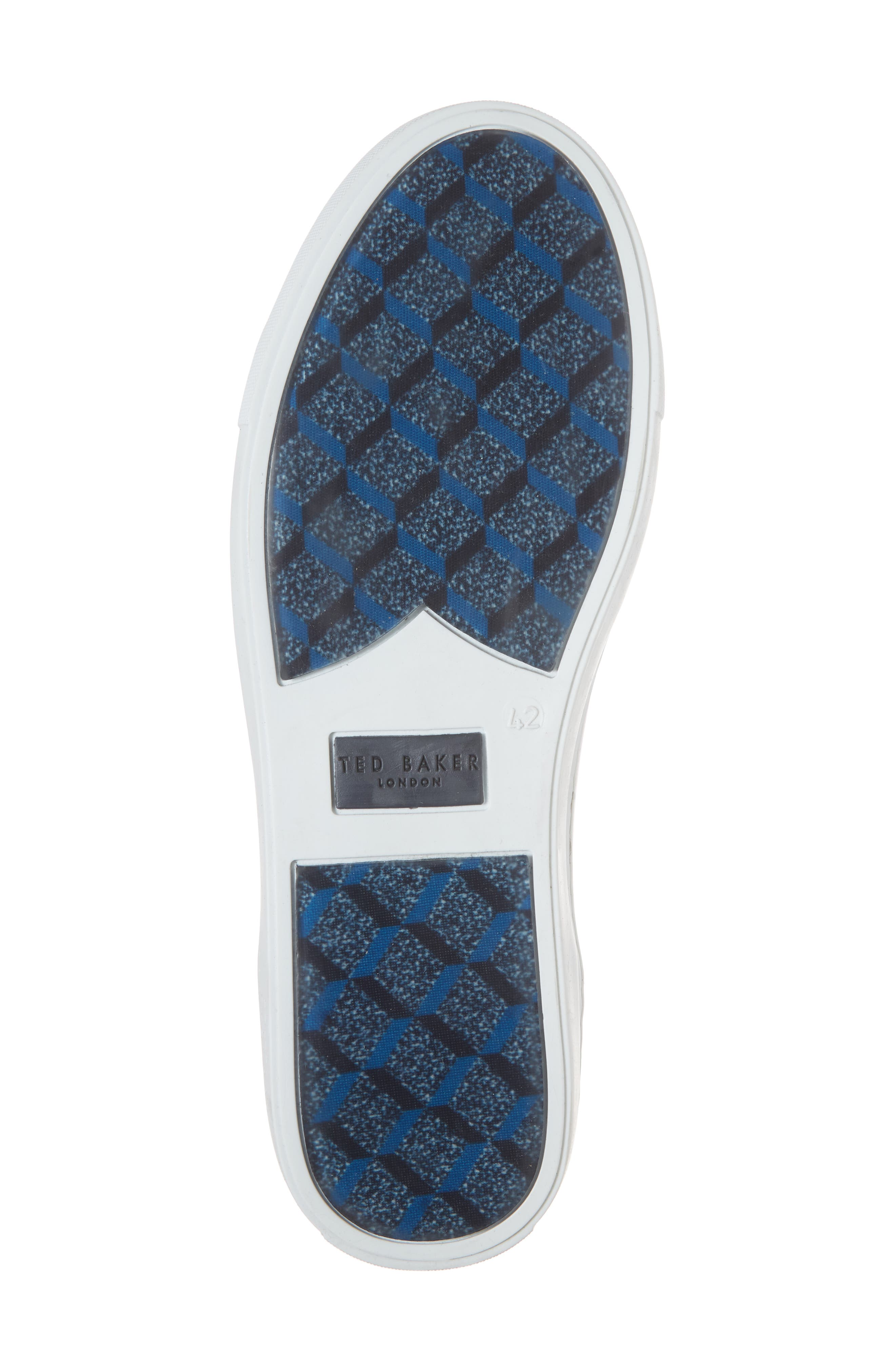 Monerkk High Top Sneaker,                             Alternate thumbnail 6, color,                             001