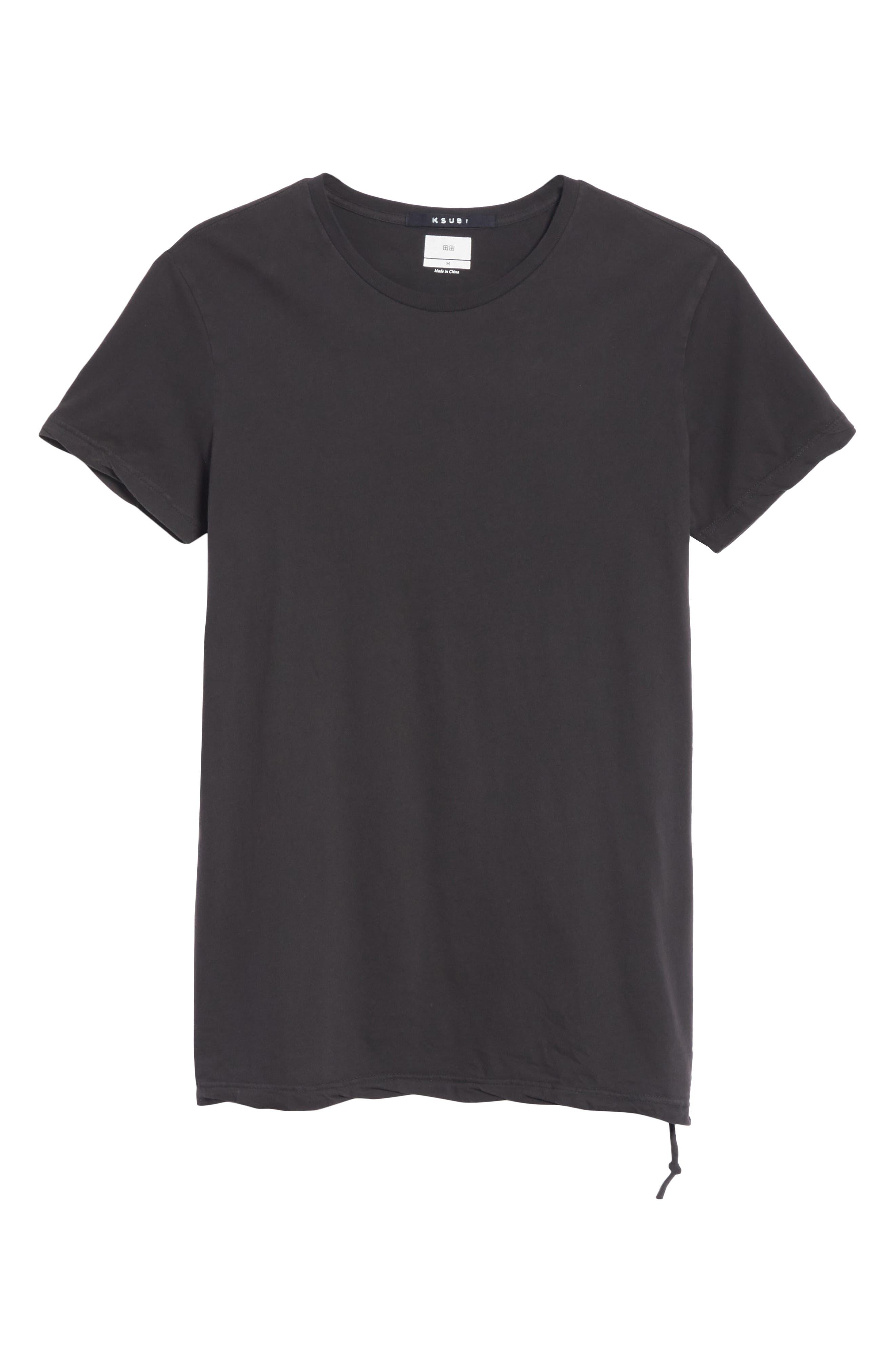 KSUBI,                             Seeing Lines T-Shirt,                             Alternate thumbnail 6, color,                             BLACK