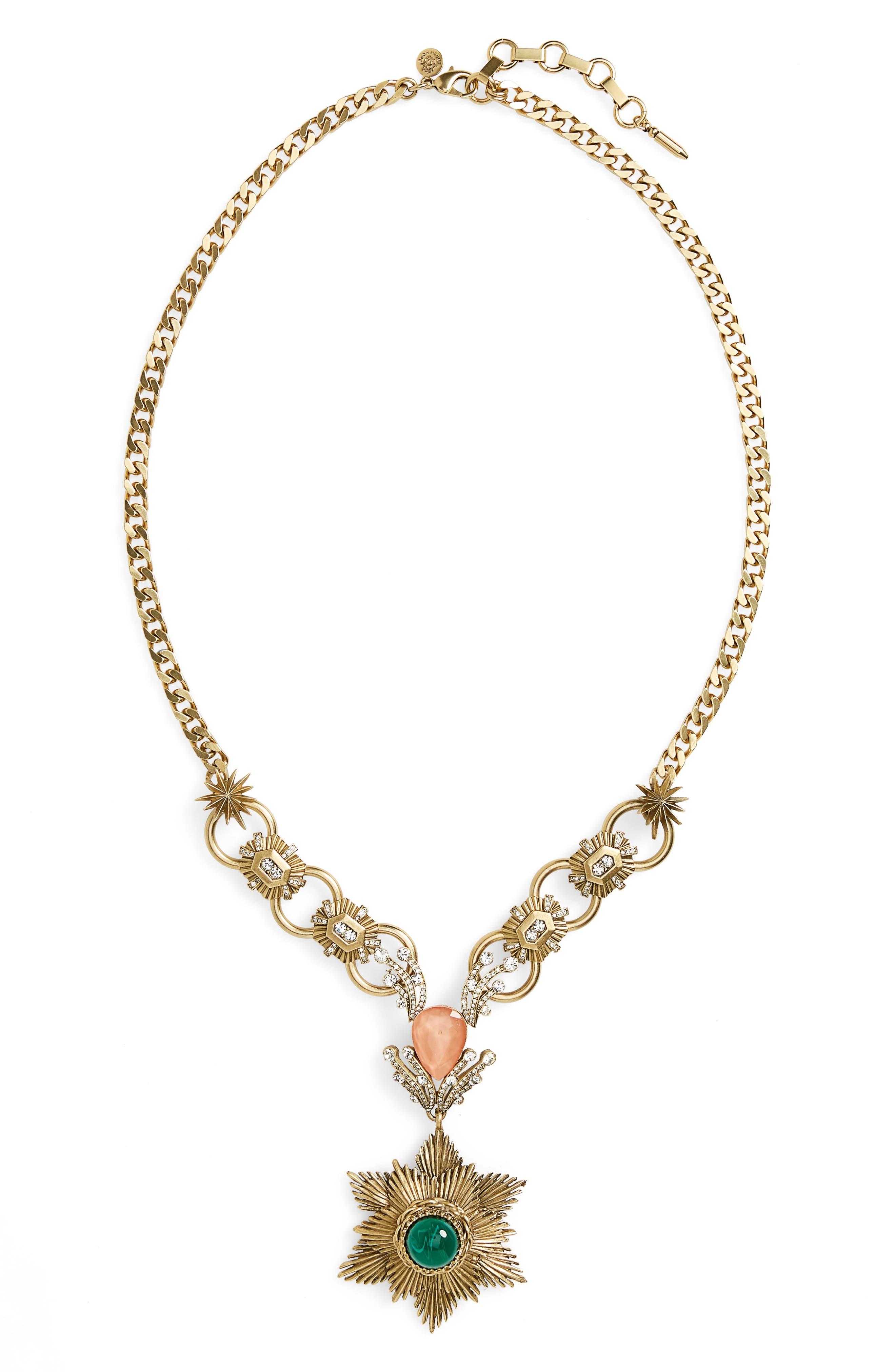 Gloria Pendant Necklace,                         Main,                         color,