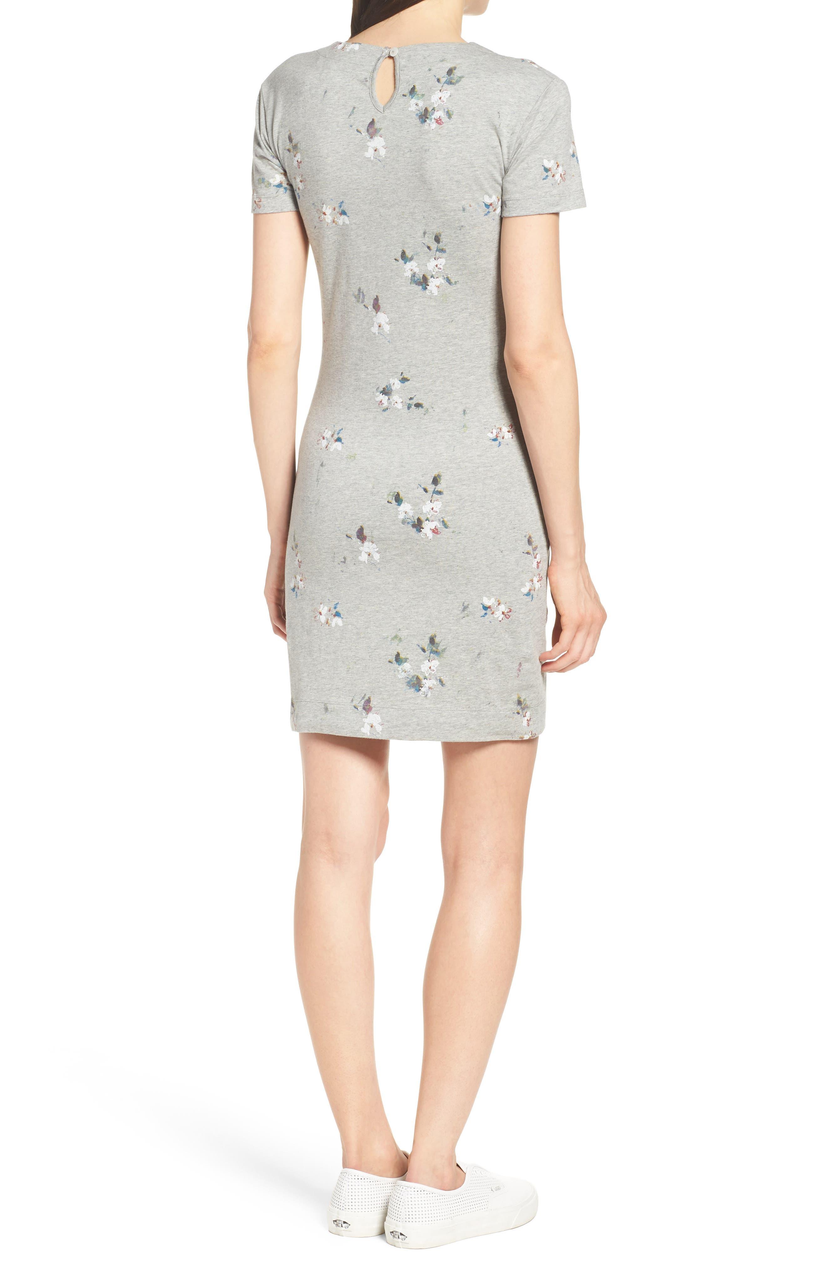 Blossom T-Shirt Dress,                             Alternate thumbnail 2, color,