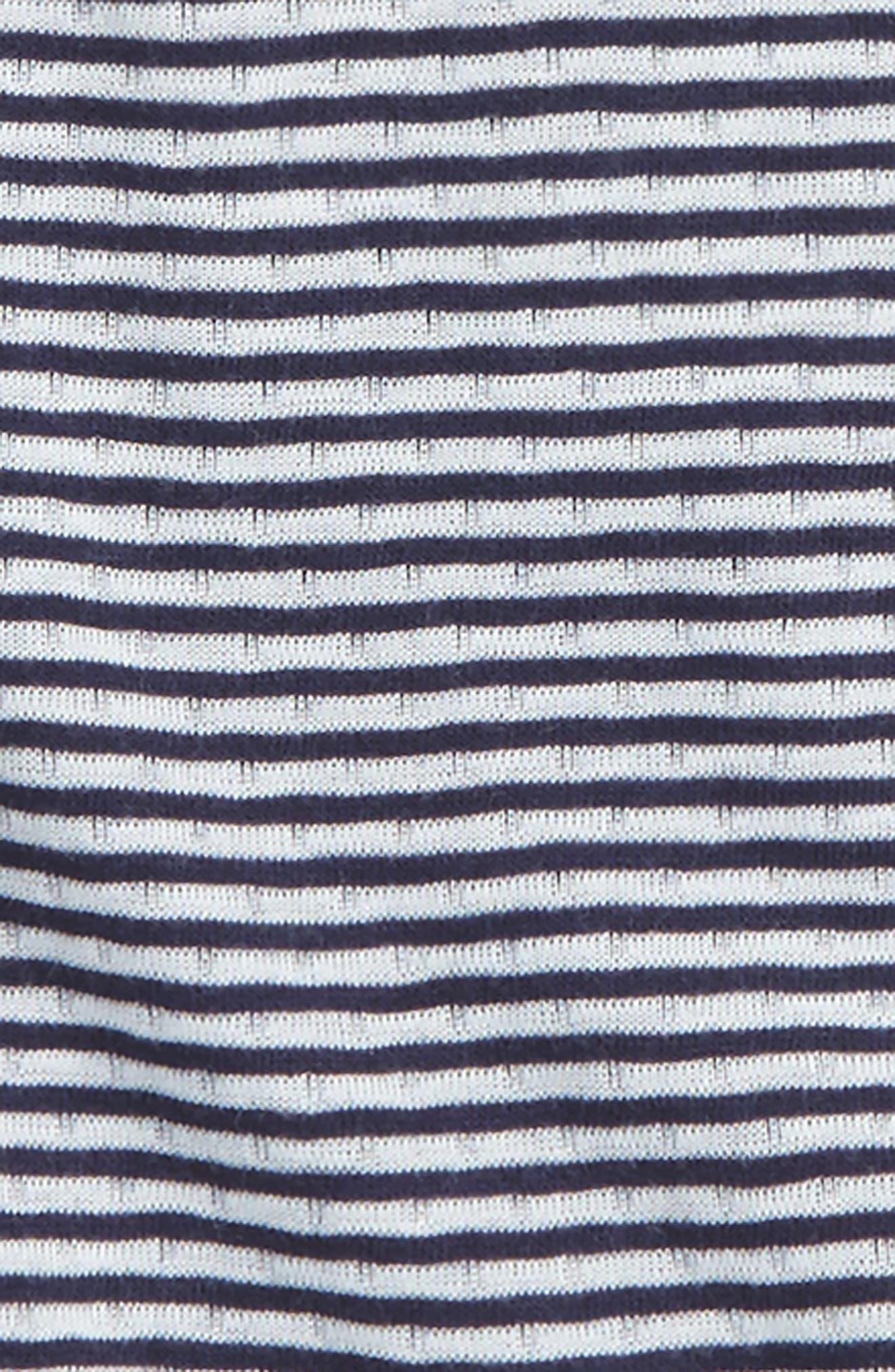 Bella Stripe Knit Tee,                             Alternate thumbnail 2, color,