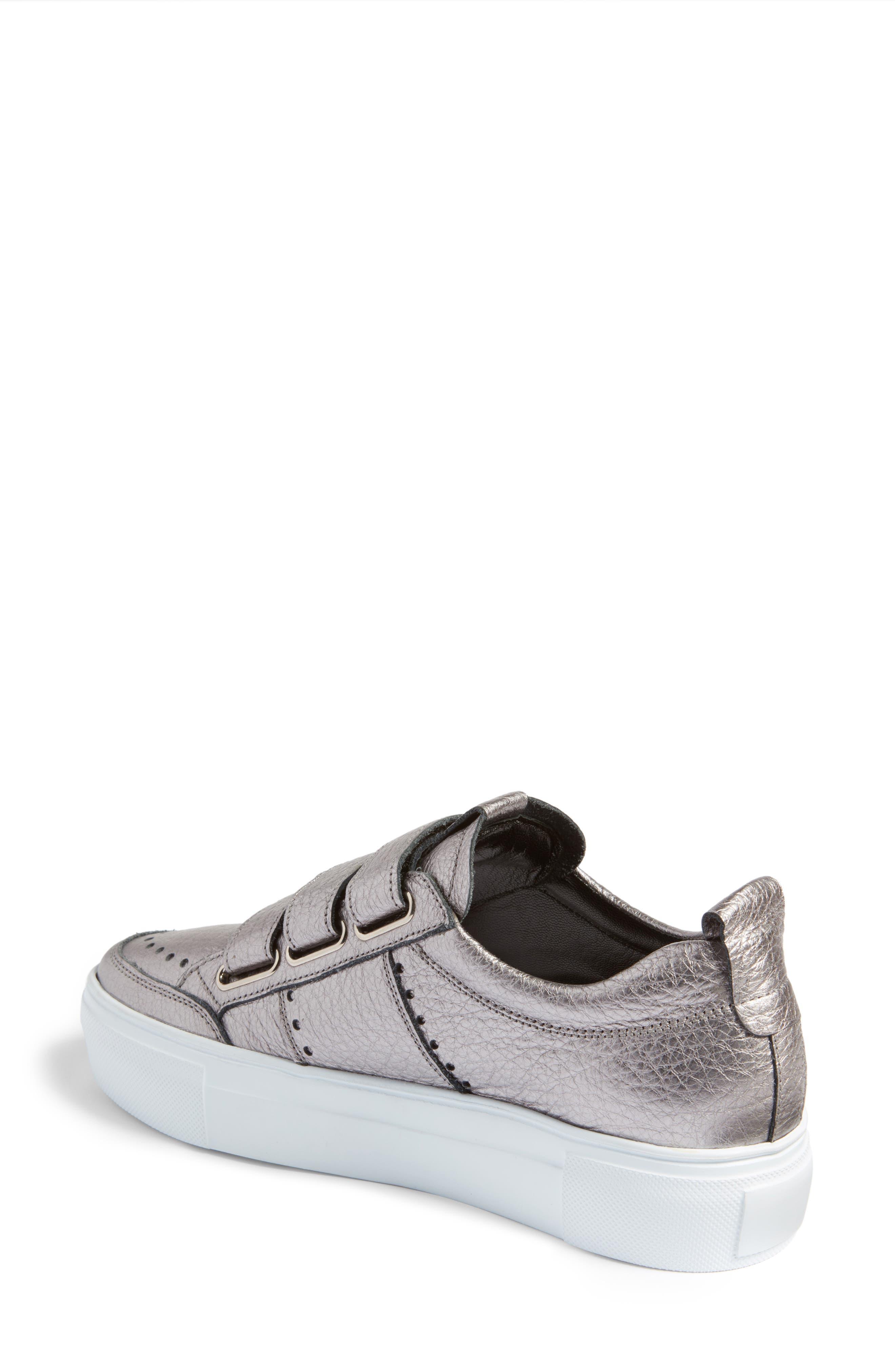 Kennel & Schmenger Big Low Top Tab Sneaker,                             Alternate thumbnail 2, color,                             020