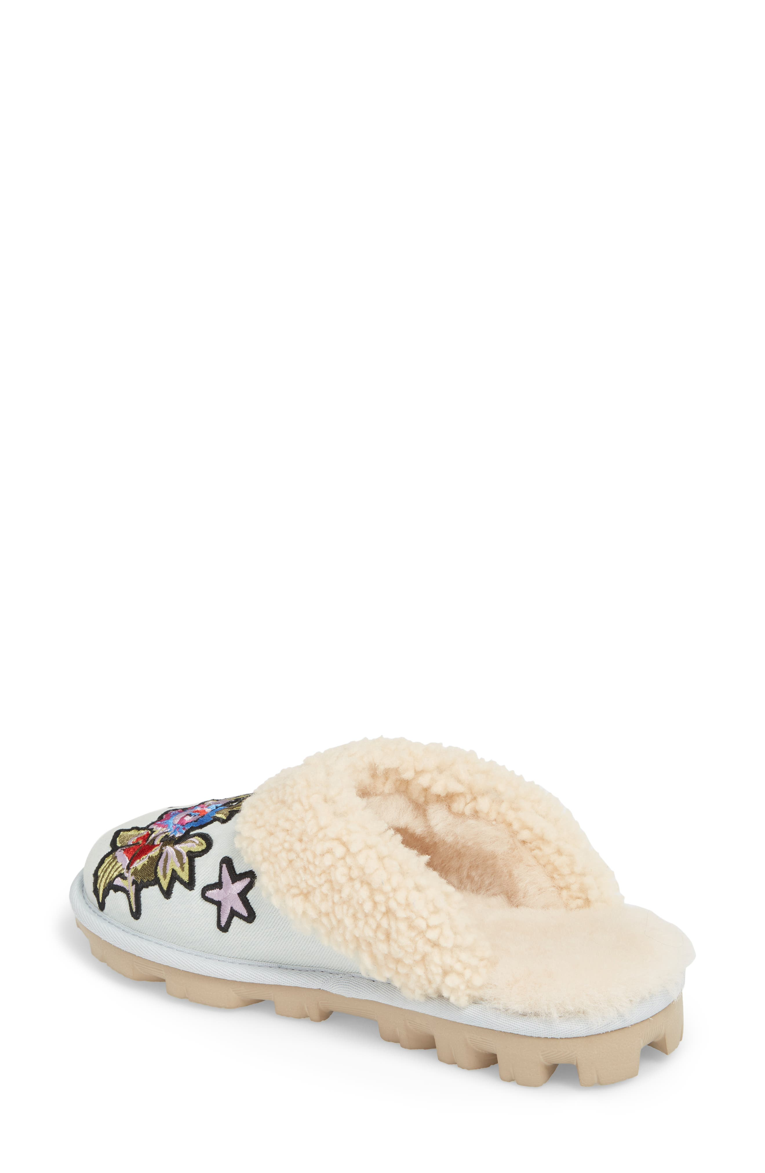 Patch It Slipper with Genuine Shearling Trim,                             Alternate thumbnail 2, color,                             452