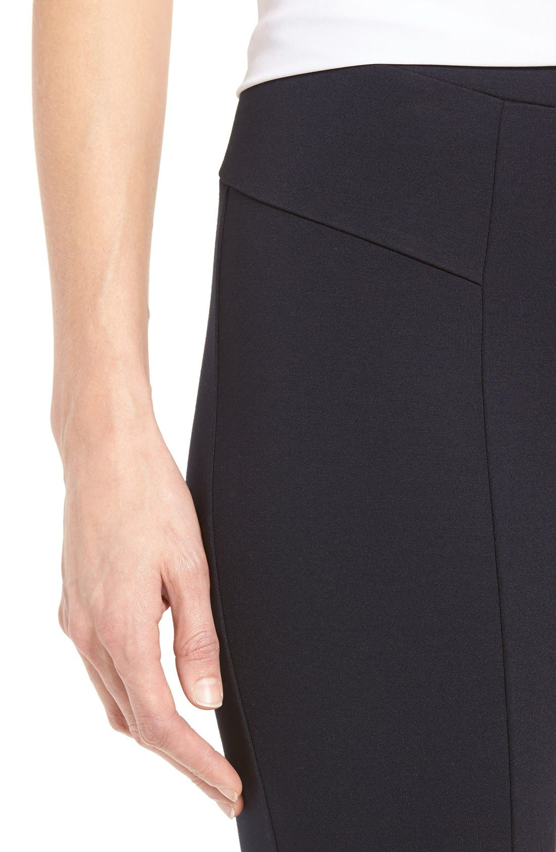 'The Perfect Ponte' Pants,                             Alternate thumbnail 9, color,                             MIDNIGHT