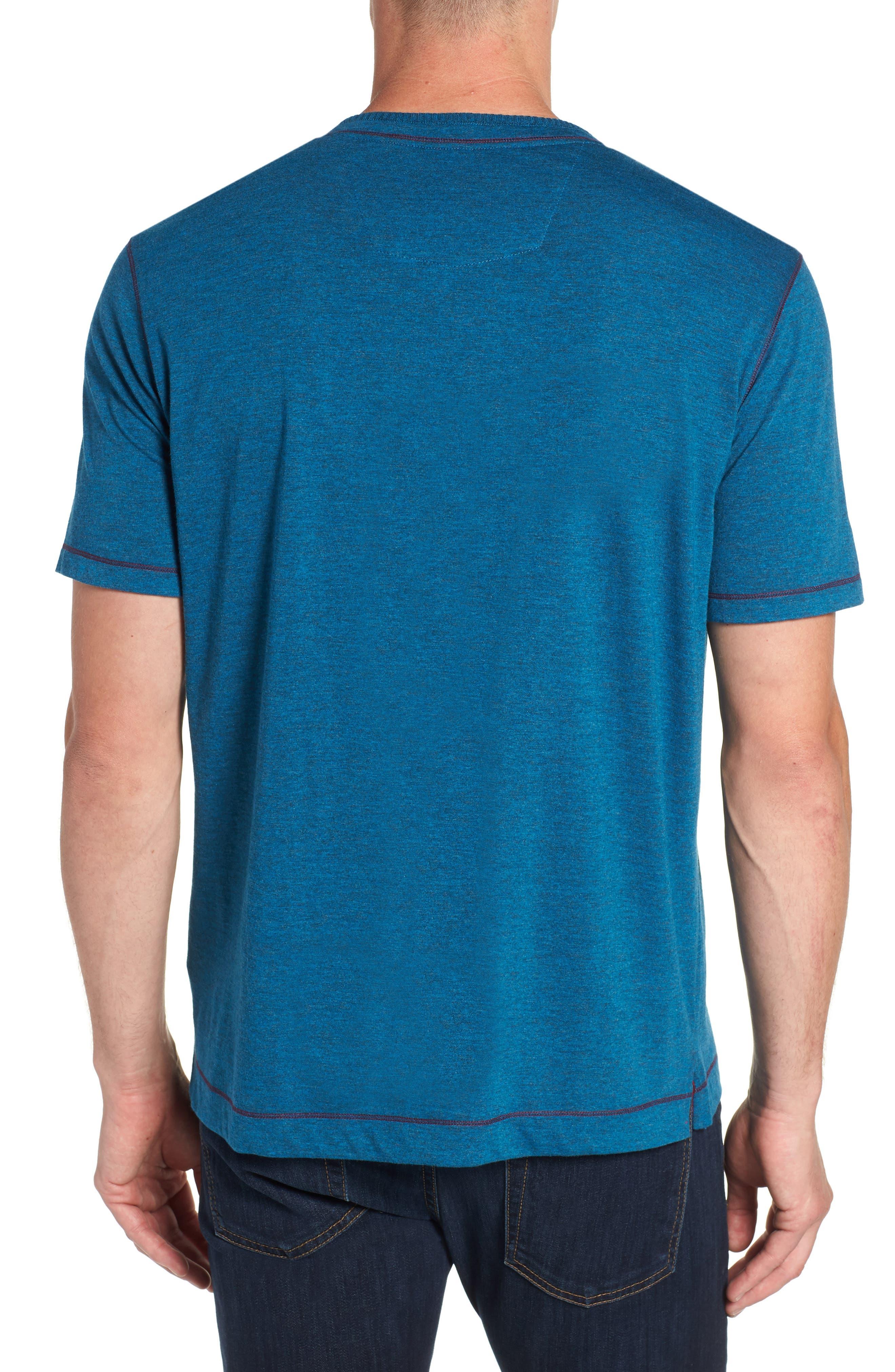 Traveler V-Neck T-Shirt,                             Alternate thumbnail 2, color,                             DARK TEAL