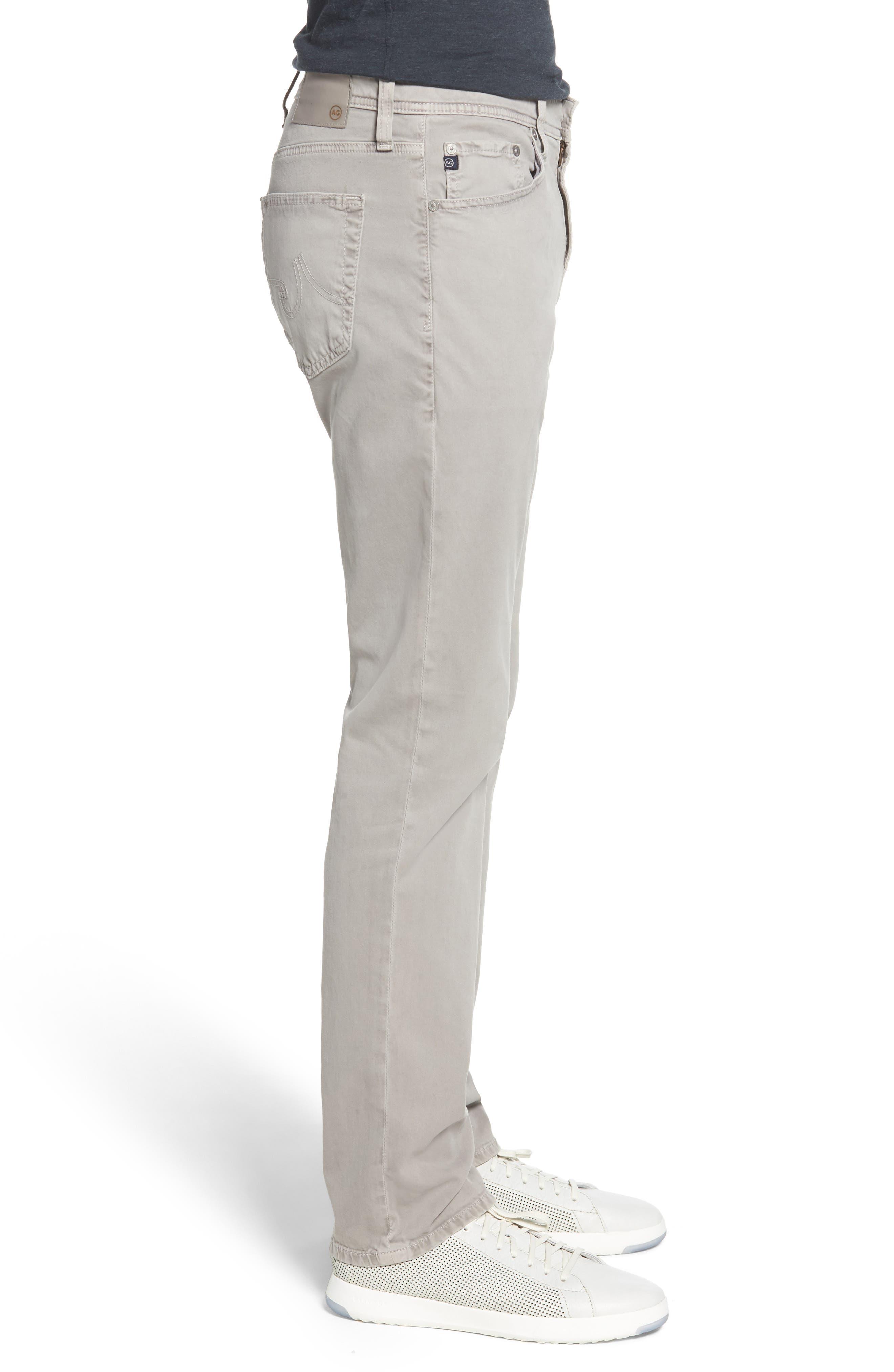 Everett SUD Slim Straight Fit Pants,                             Alternate thumbnail 3, color,                             SULFUR PLATINUM