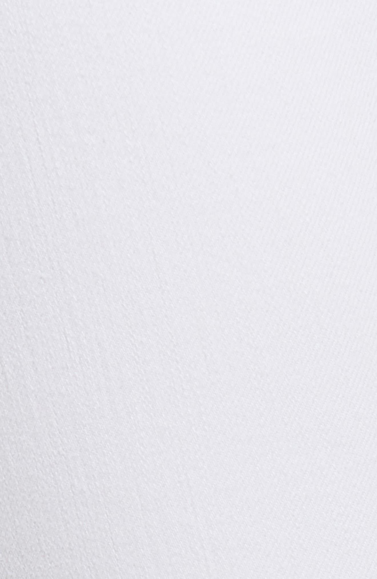 AFRM,                             Grommet Detail Ankle Skinny Jeans,                             Alternate thumbnail 6, color,                             100