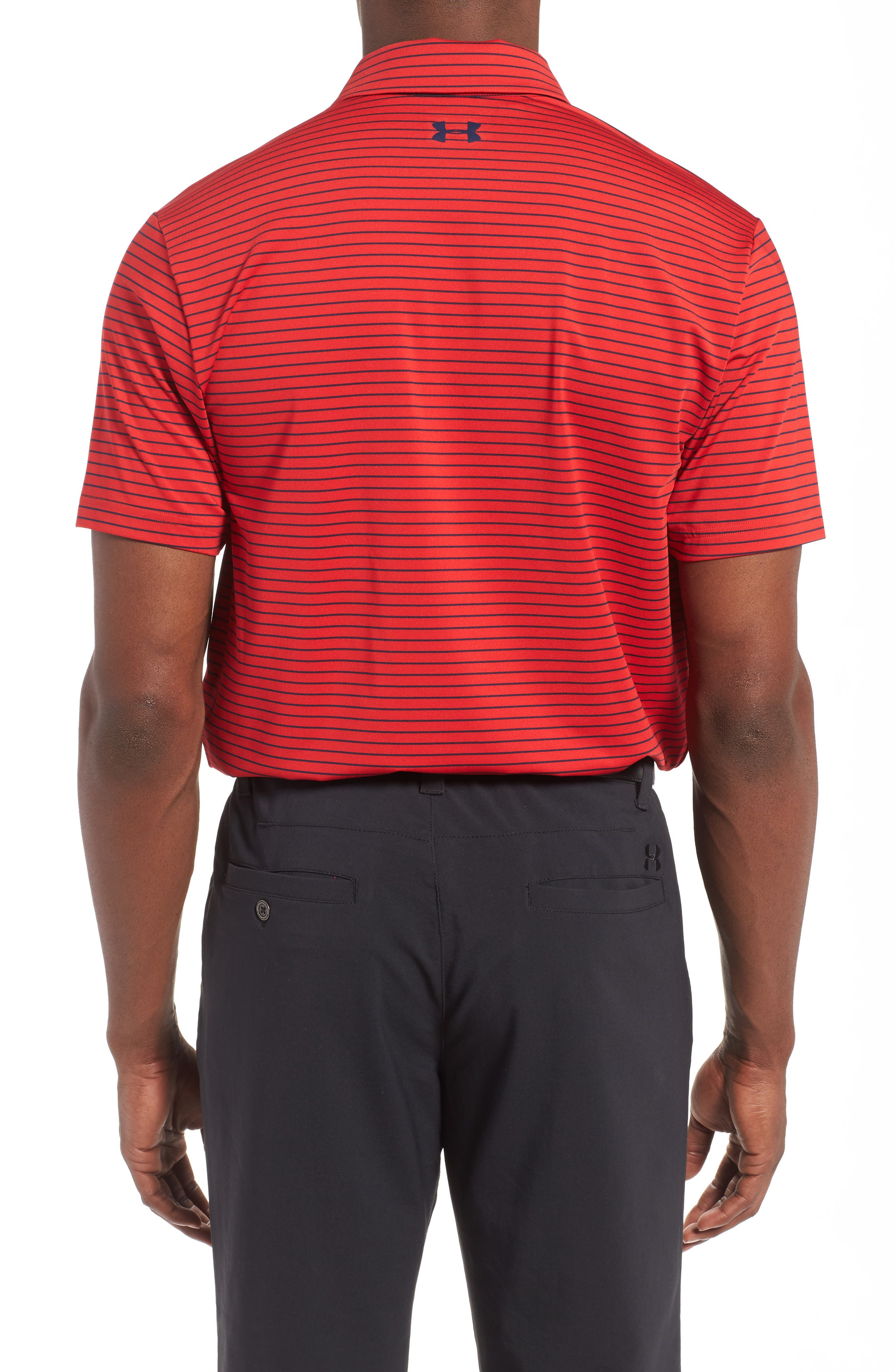 'Playoff' Loose Fit Short Sleeve Polo,                             Alternate thumbnail 107, color,