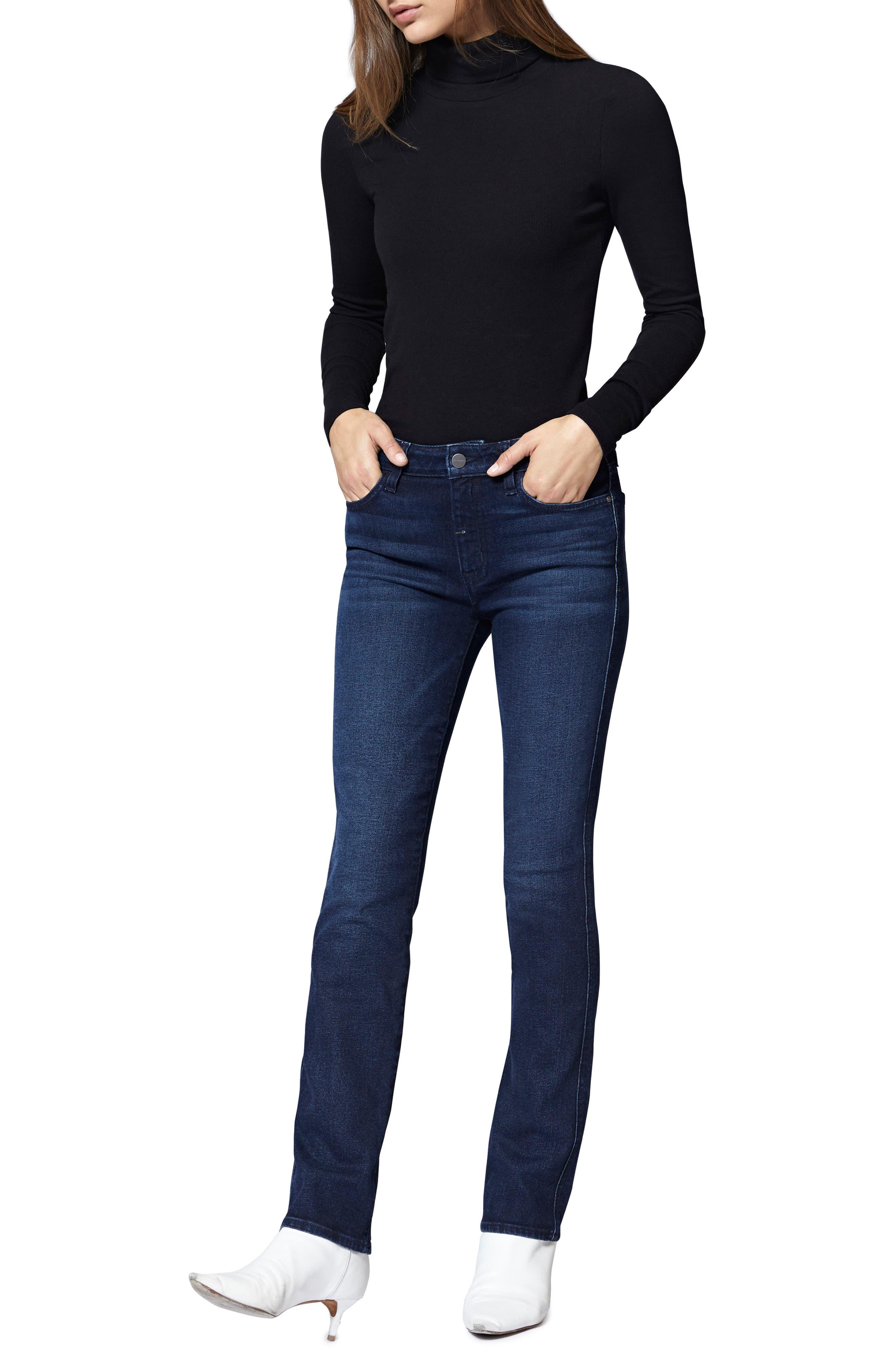 SANCTUARY,                             Social High Rise Raw Hem Skinny Ankle Jeans,                             Alternate thumbnail 6, color,                             401
