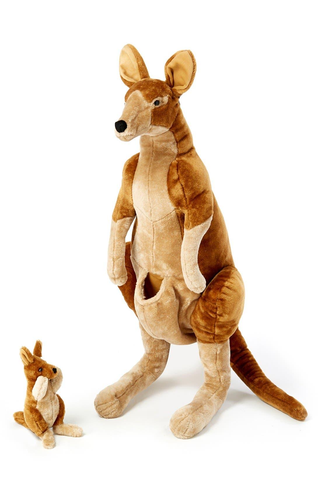Oversized Kangaroo,                             Alternate thumbnail 3, color,                             BROWN