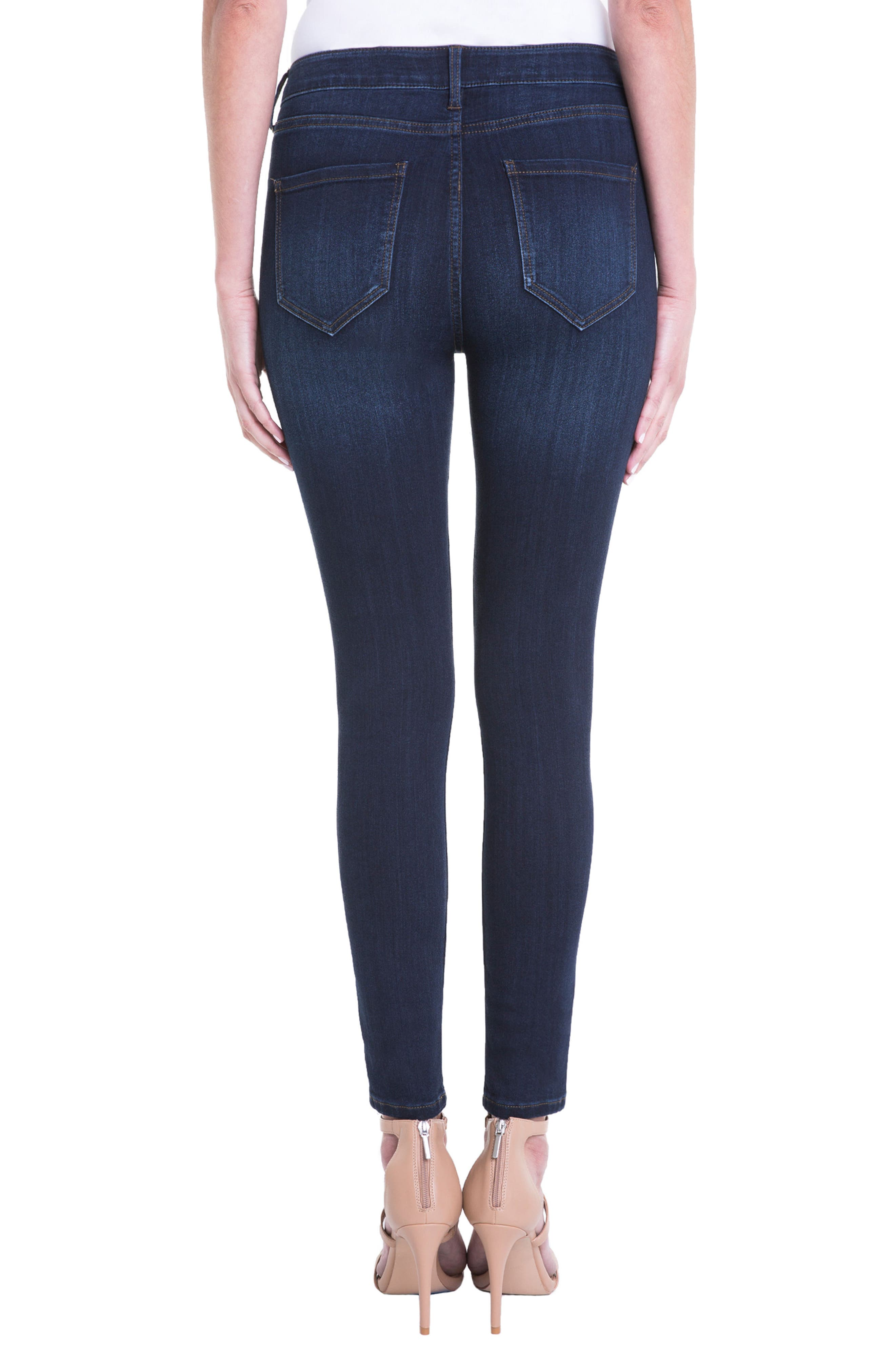 Jeans Company Bridget High Waist Skinny Jeans,                             Alternate thumbnail 7, color,