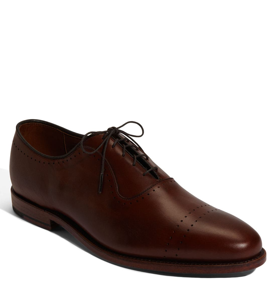 'Vernon' Oxford,                             Main thumbnail 1, color,                             SADDLE BROWN CALF