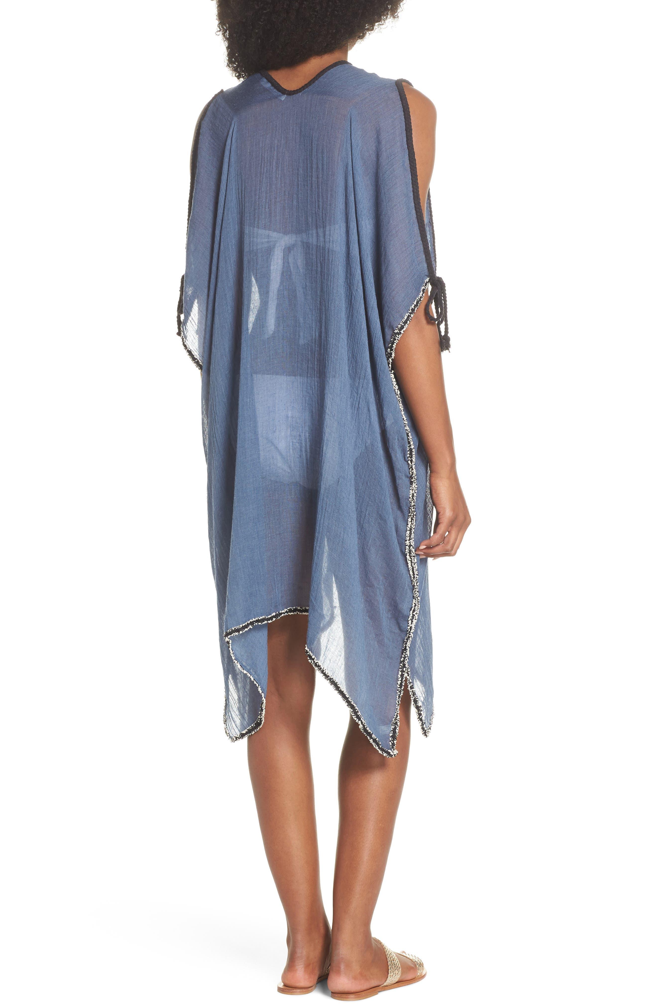 Cold Shoulder Cover-Up Dress,                             Alternate thumbnail 2, color,                             414