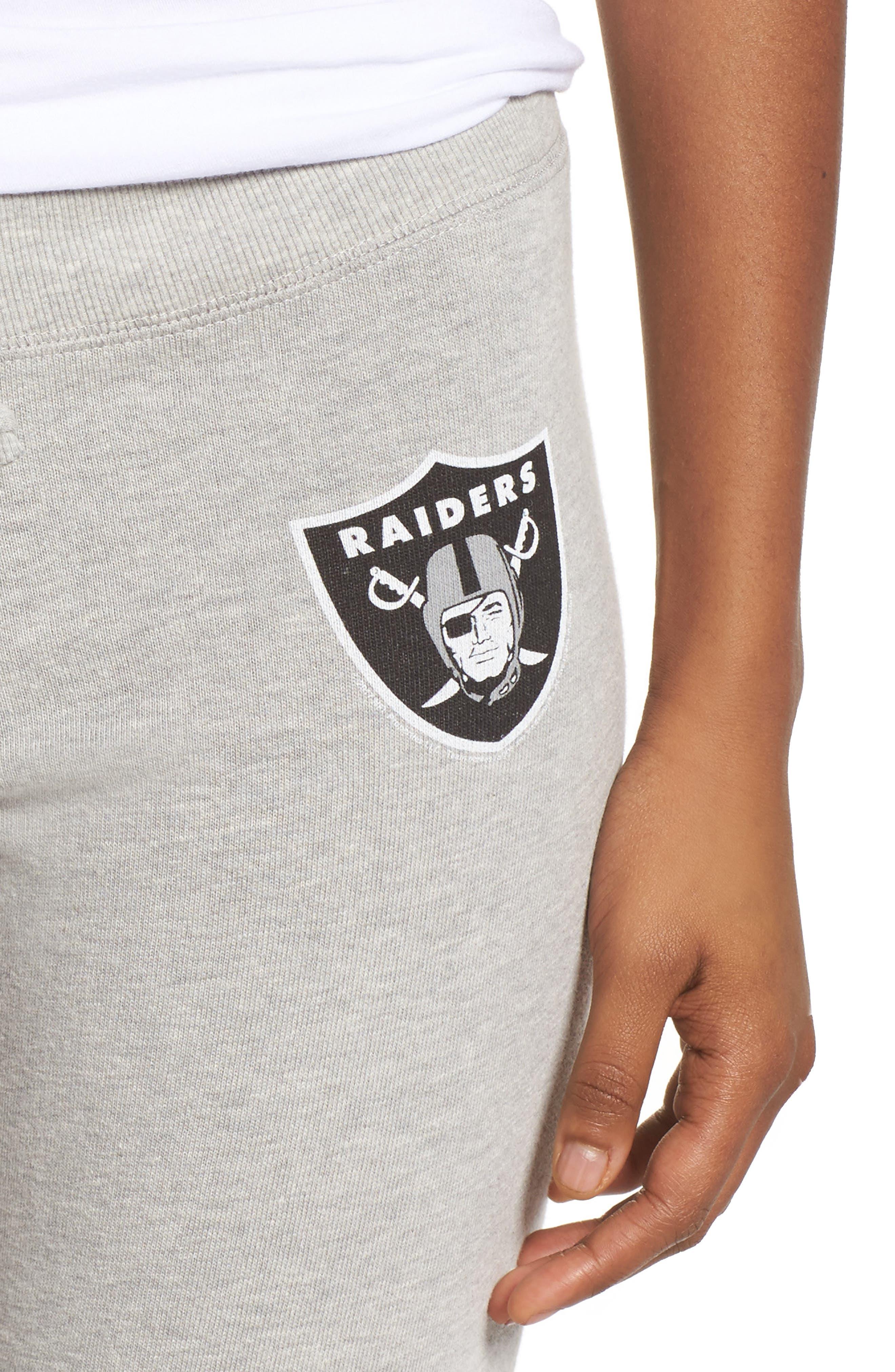 NFL Oakland Raiders Hacci Sweatpants,                             Alternate thumbnail 4, color,                             030