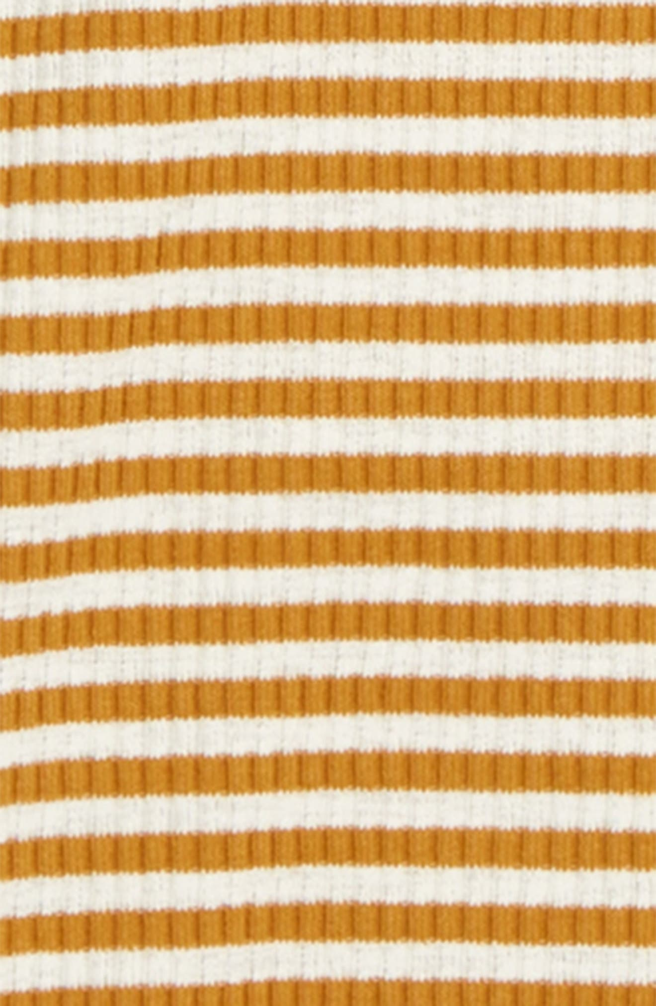 Melainie Stripe Top,                             Alternate thumbnail 4, color,                             HONEY