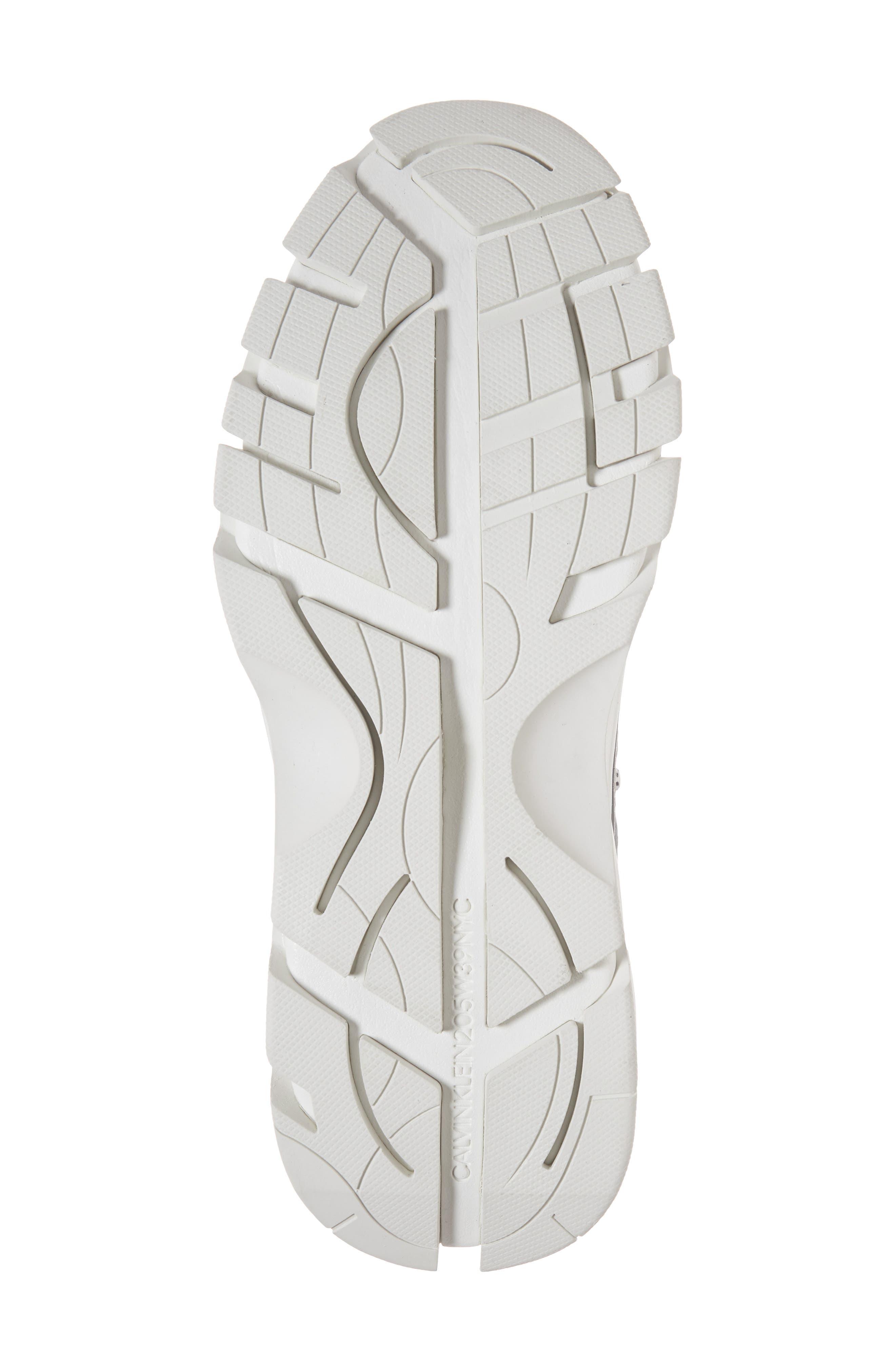 Carlos 10 Snapback Runner Sneaker,                             Alternate thumbnail 6, color,                             GREY/ YELLOW/ BLACK/ WHITE