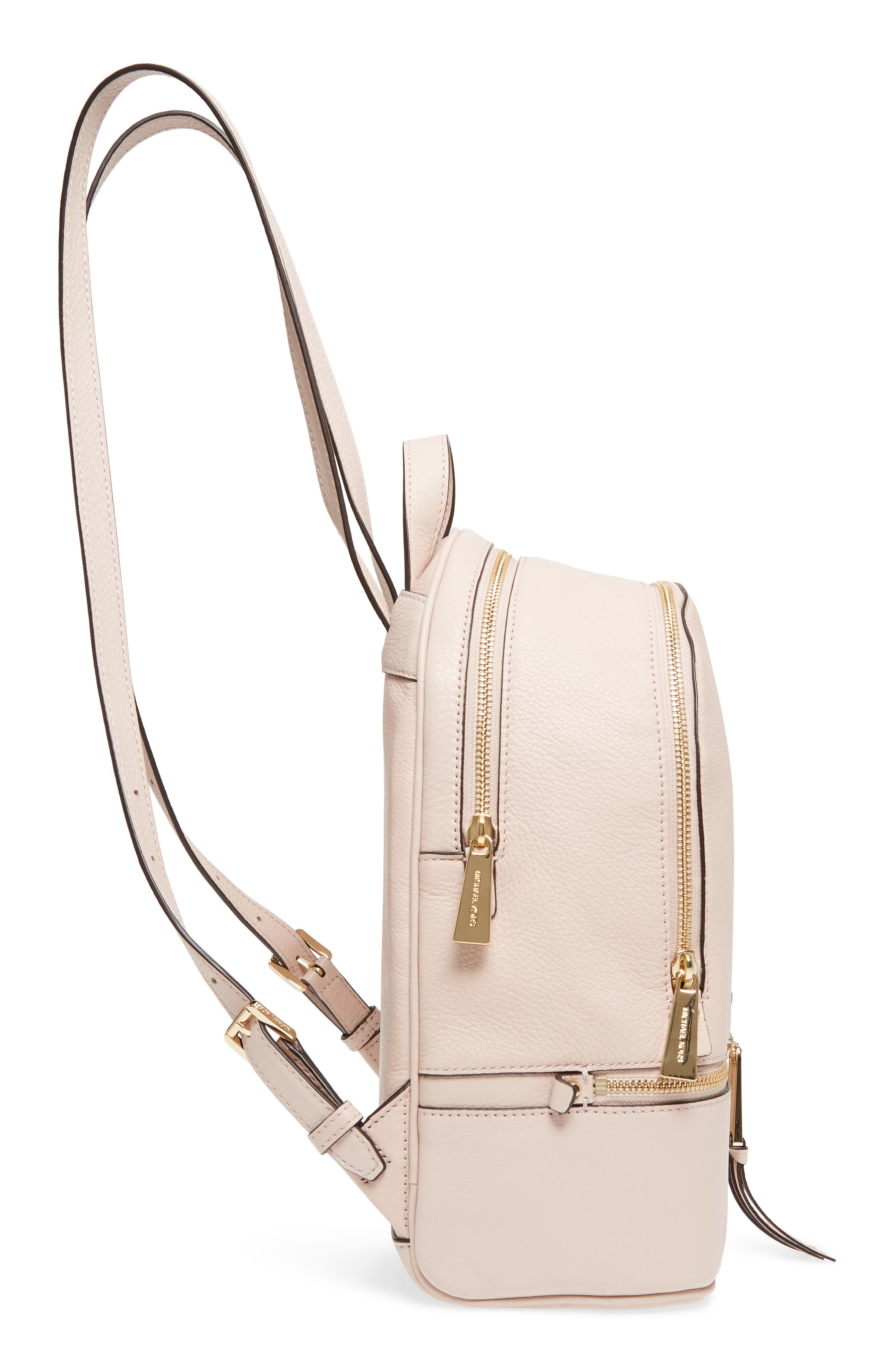 'Extra Small Rhea Zip' Leather Backpack,                             Alternate thumbnail 36, color,