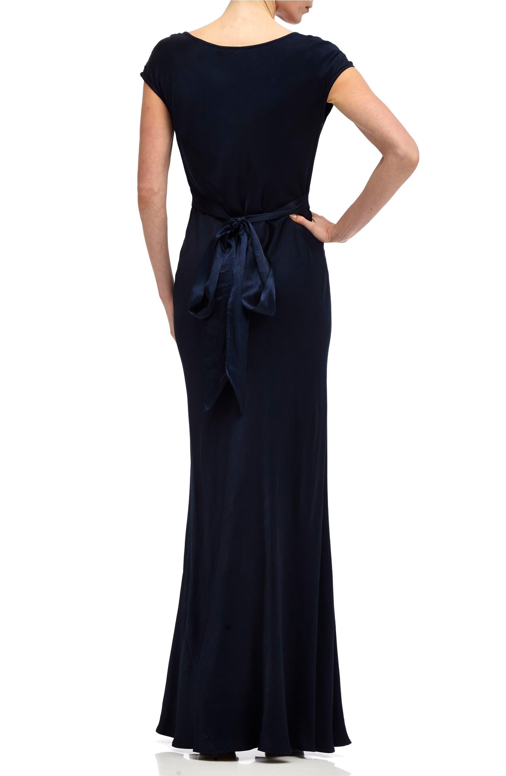 03da6b5135 Ghost London Fern Cowl Neck Gown