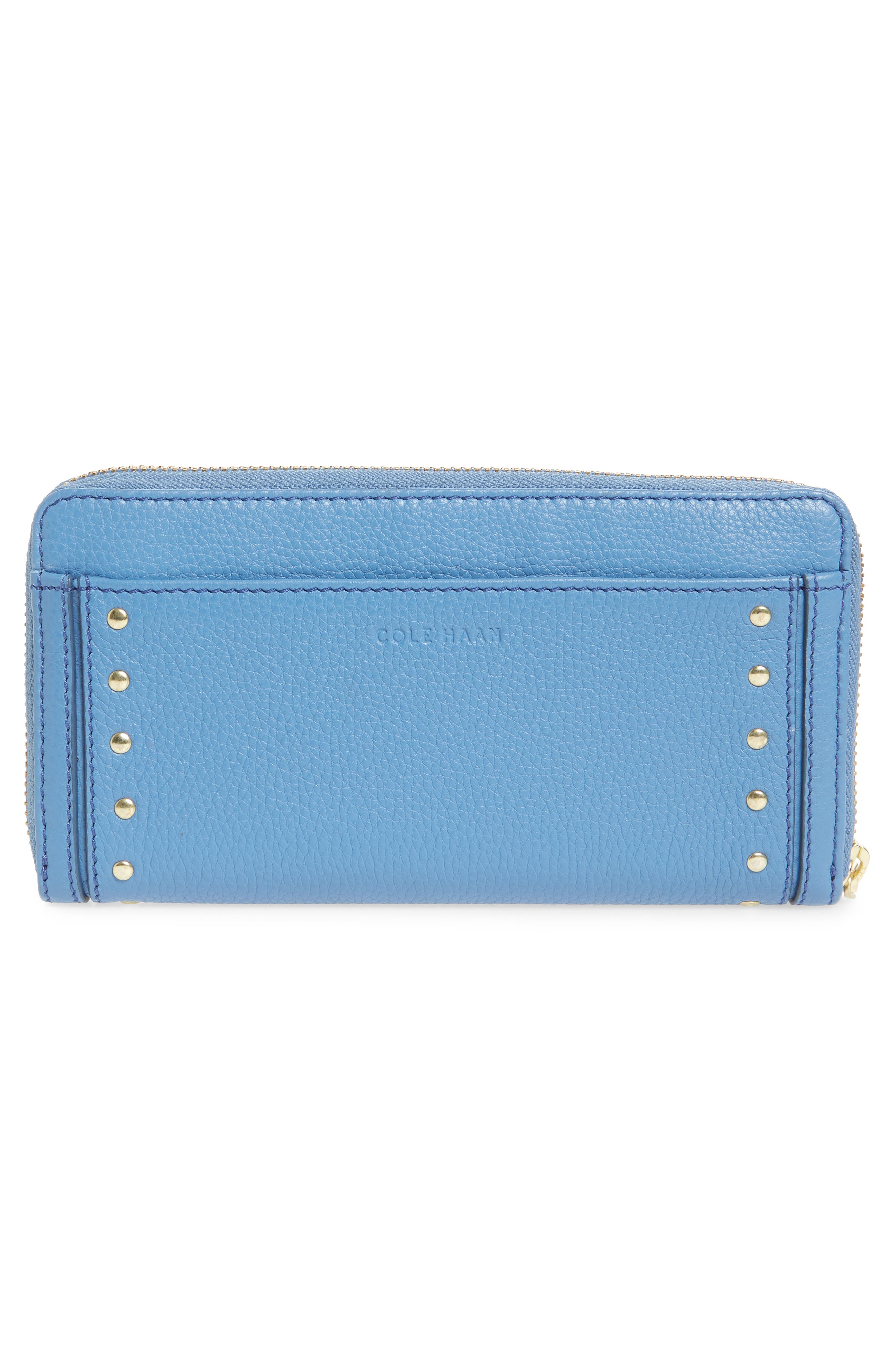 Cassidy Leather RFID Continental Zip Wallet,                             Alternate thumbnail 9, color,