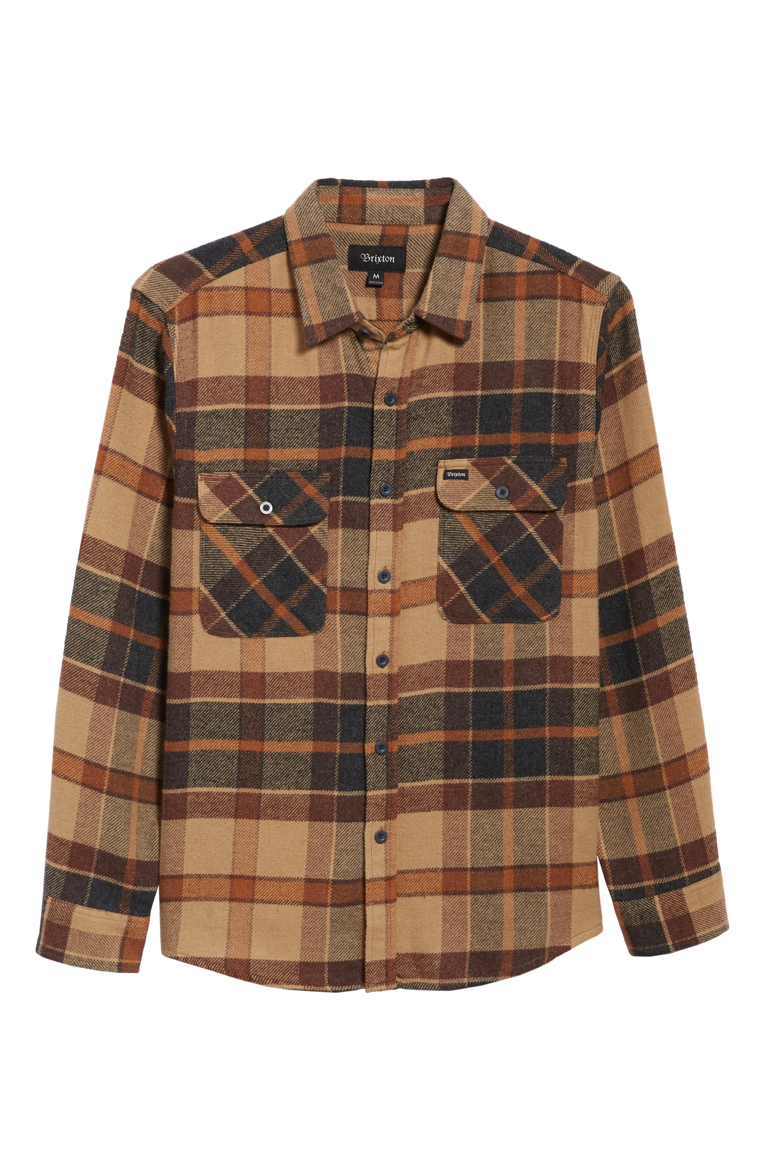 Bowery Flannel Shirt,                             Alternate thumbnail 46, color,