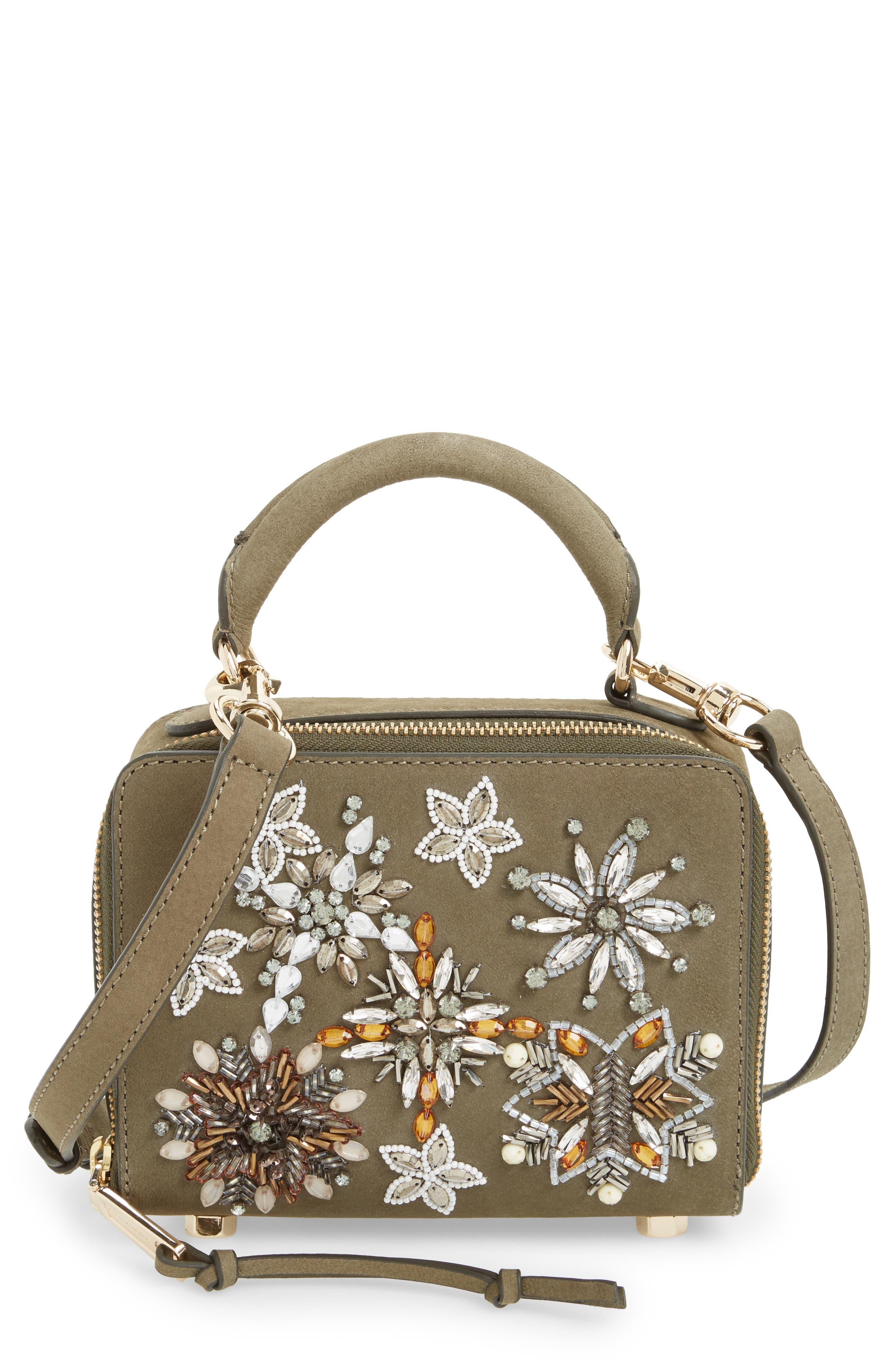 Beaded Crossbody Bag,                         Main,                         color, 305