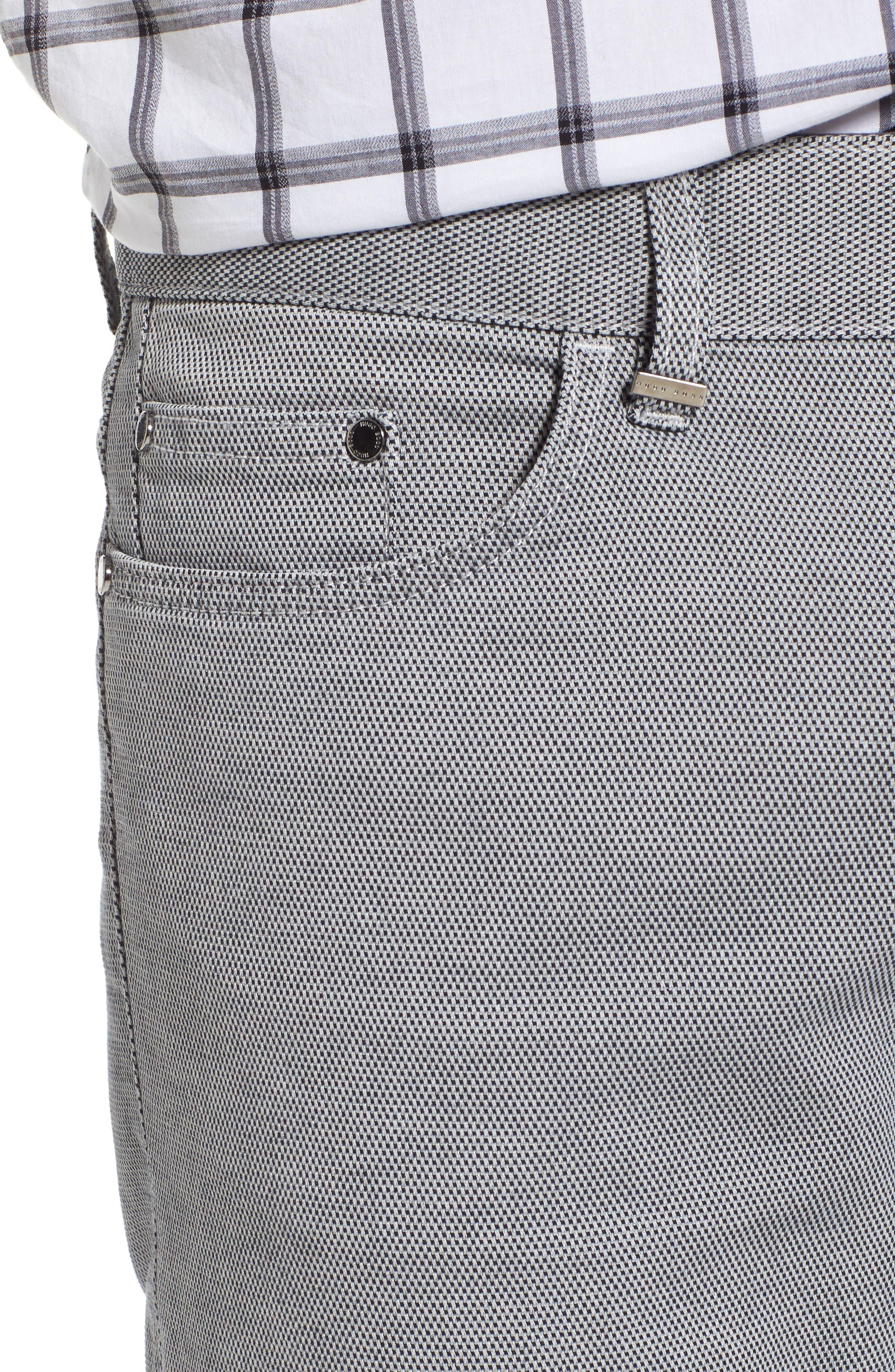 Delaware Slim Fit Structure Jeans,                             Alternate thumbnail 11, color,