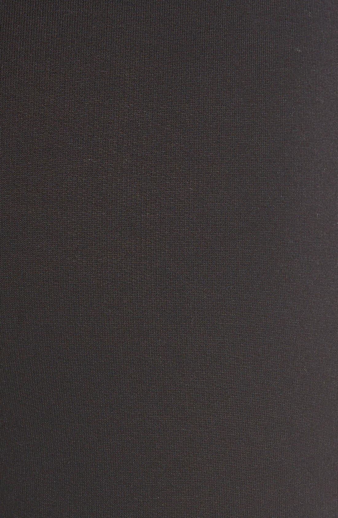 SPLENDID,                             Stretch Cotton Leggings,                             Alternate thumbnail 2, color,                             001