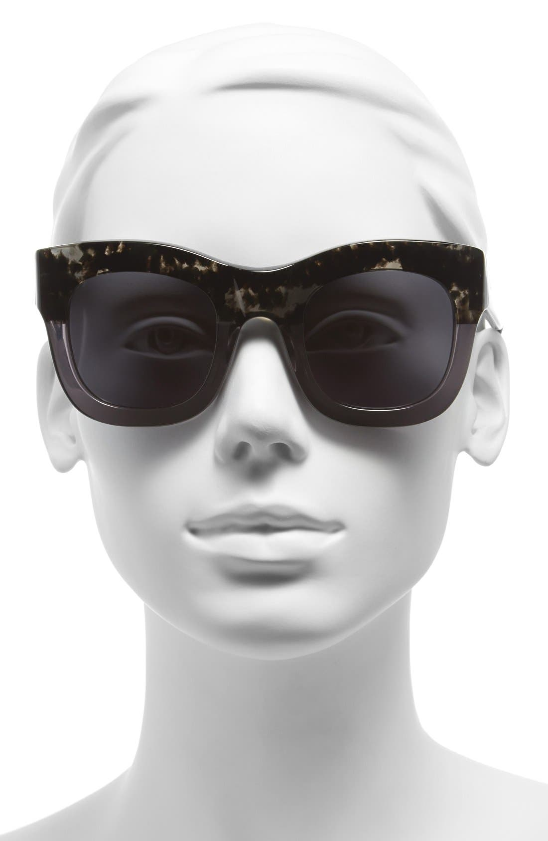 'Hamilton' 49mm Retro Sunglasses,                             Alternate thumbnail 14, color,