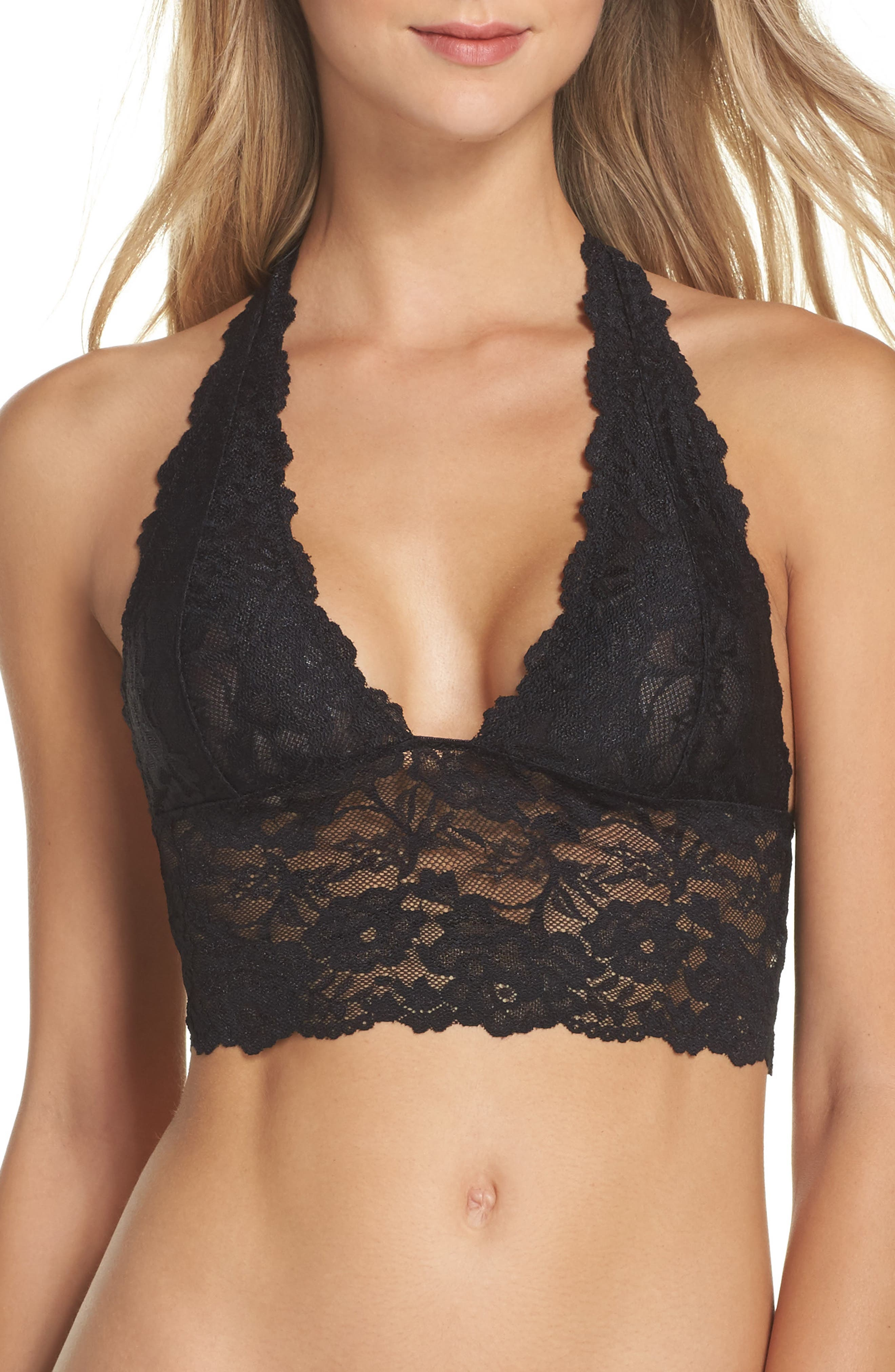 Intimately FP Heartbreaker Longline Bralette,                             Main thumbnail 1, color,                             010