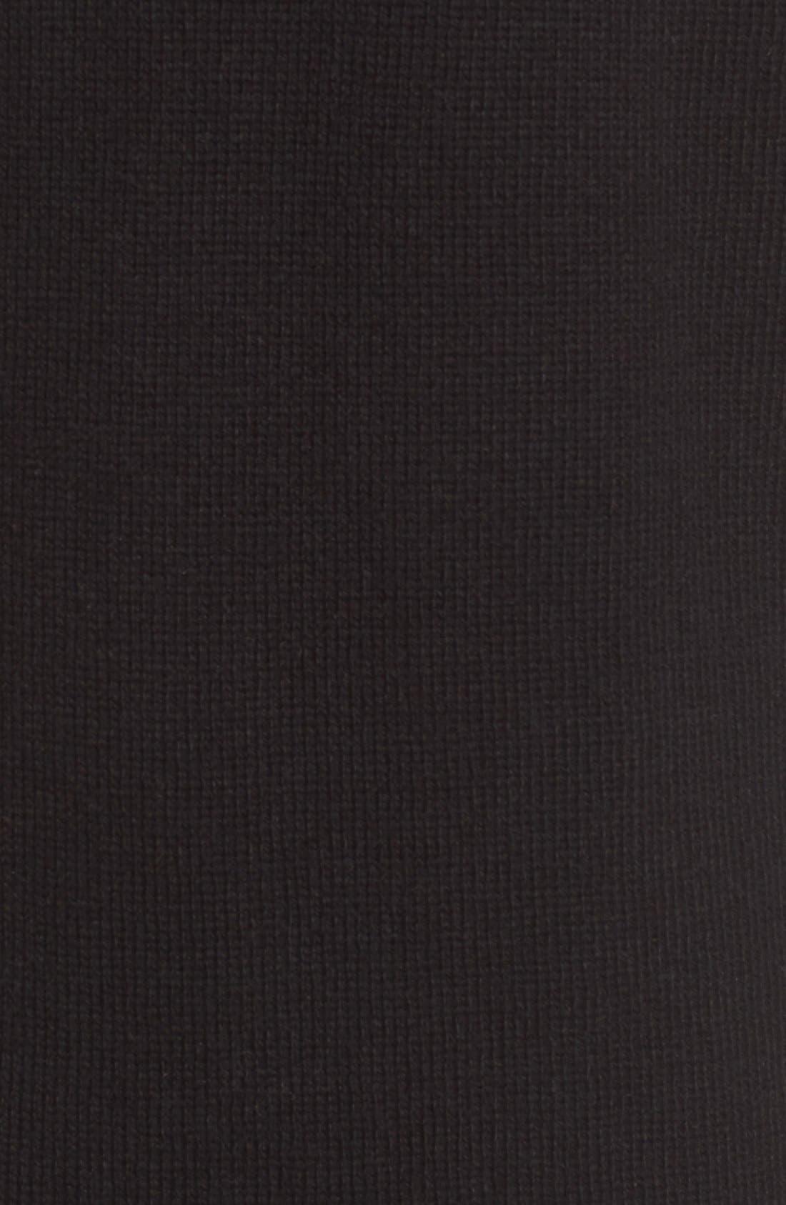 Open Front Cardigan,                             Alternate thumbnail 4, color,                             001