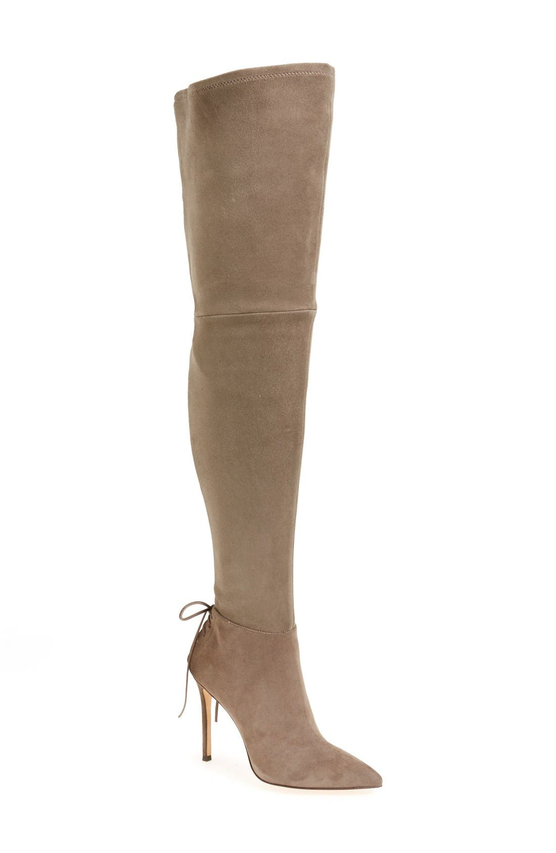 'Caterina' Over the Knee Boot,                             Main thumbnail 4, color,