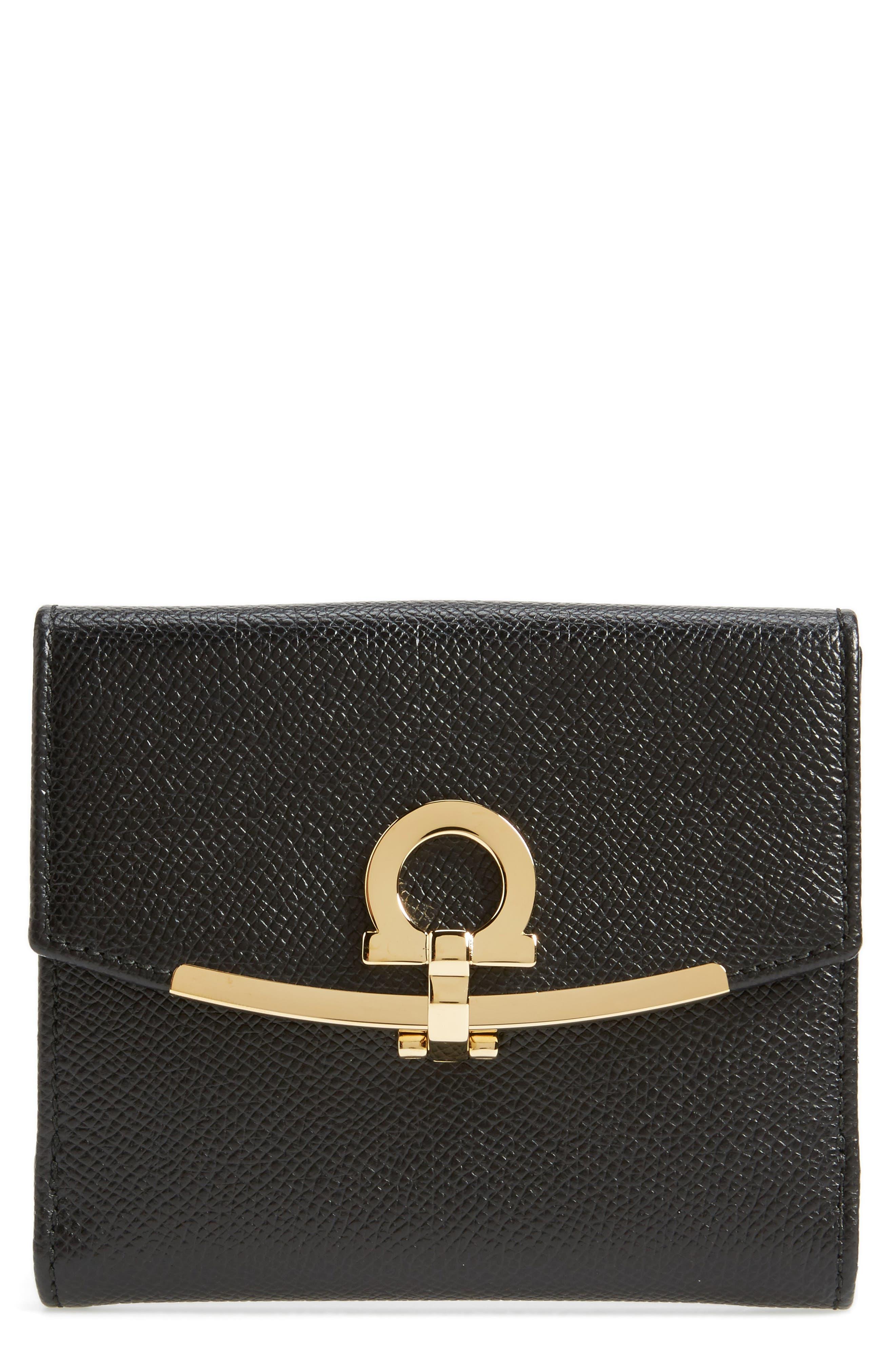 Icona Medium French Wallet,                             Main thumbnail 1, color,                             070