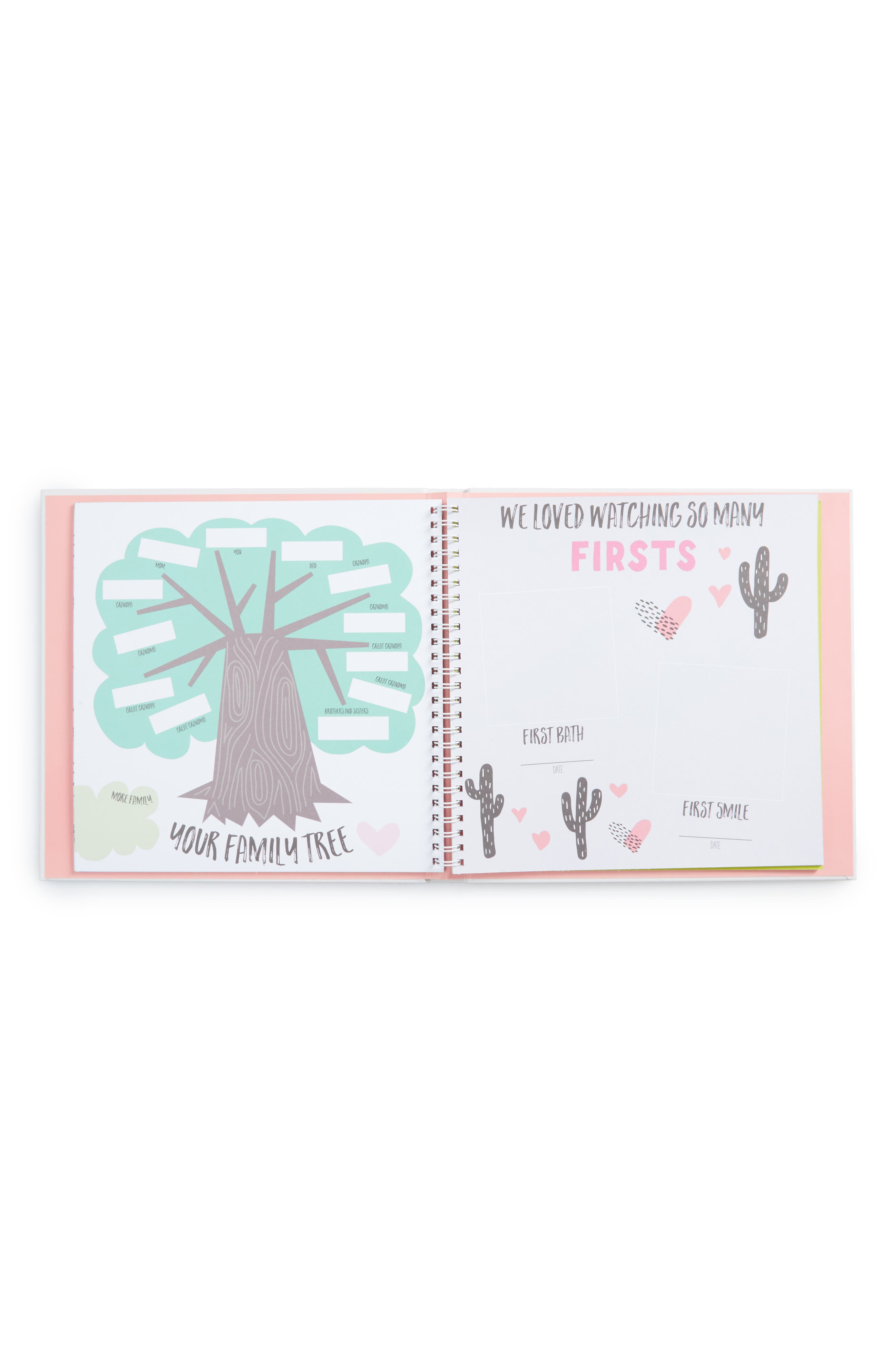 'Baby's First Year' Memory Book,                             Alternate thumbnail 2, color,                             PINK