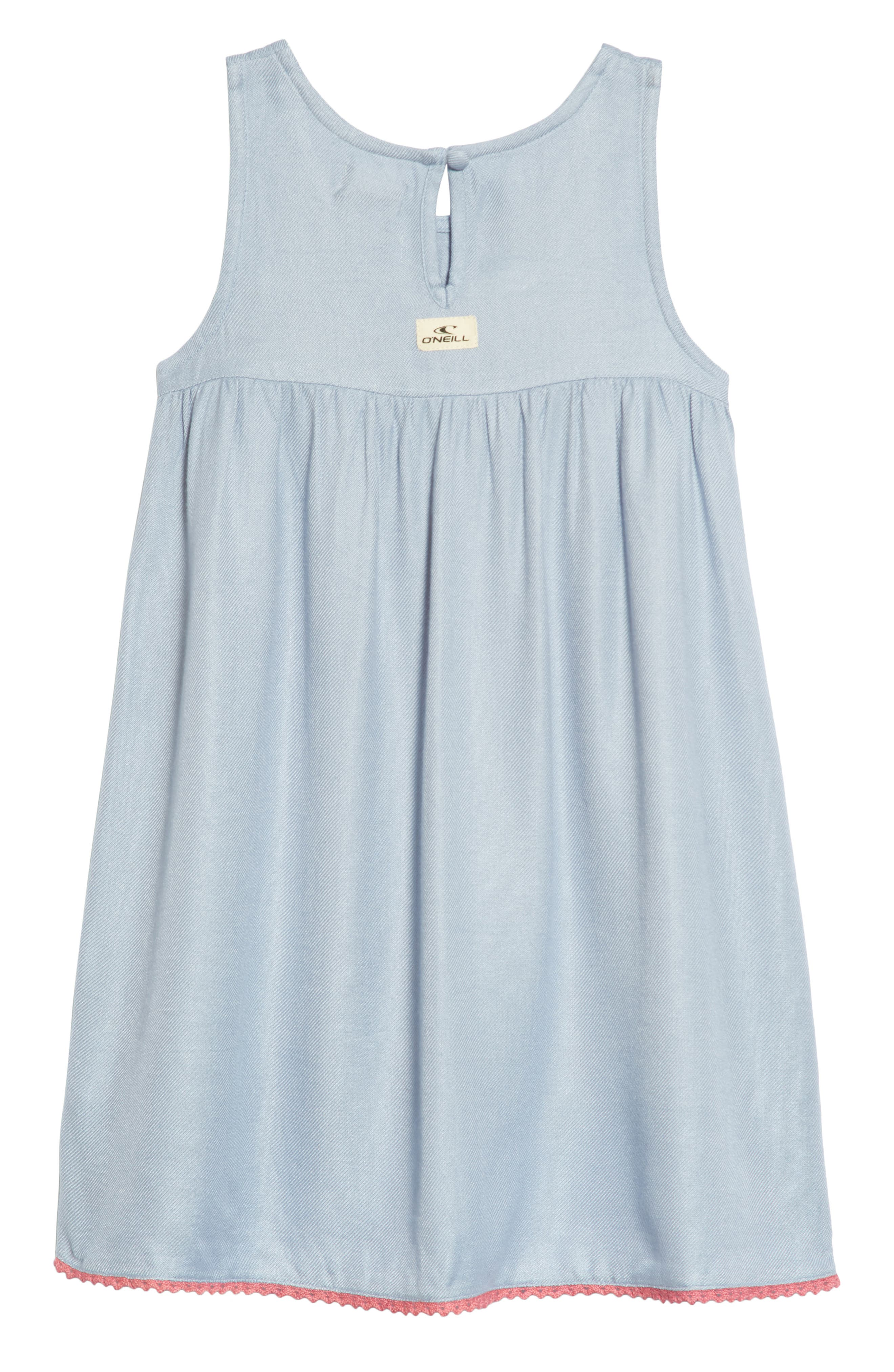 Dani Dress,                             Alternate thumbnail 2, color,                             BLEACHED PERIWINKLE