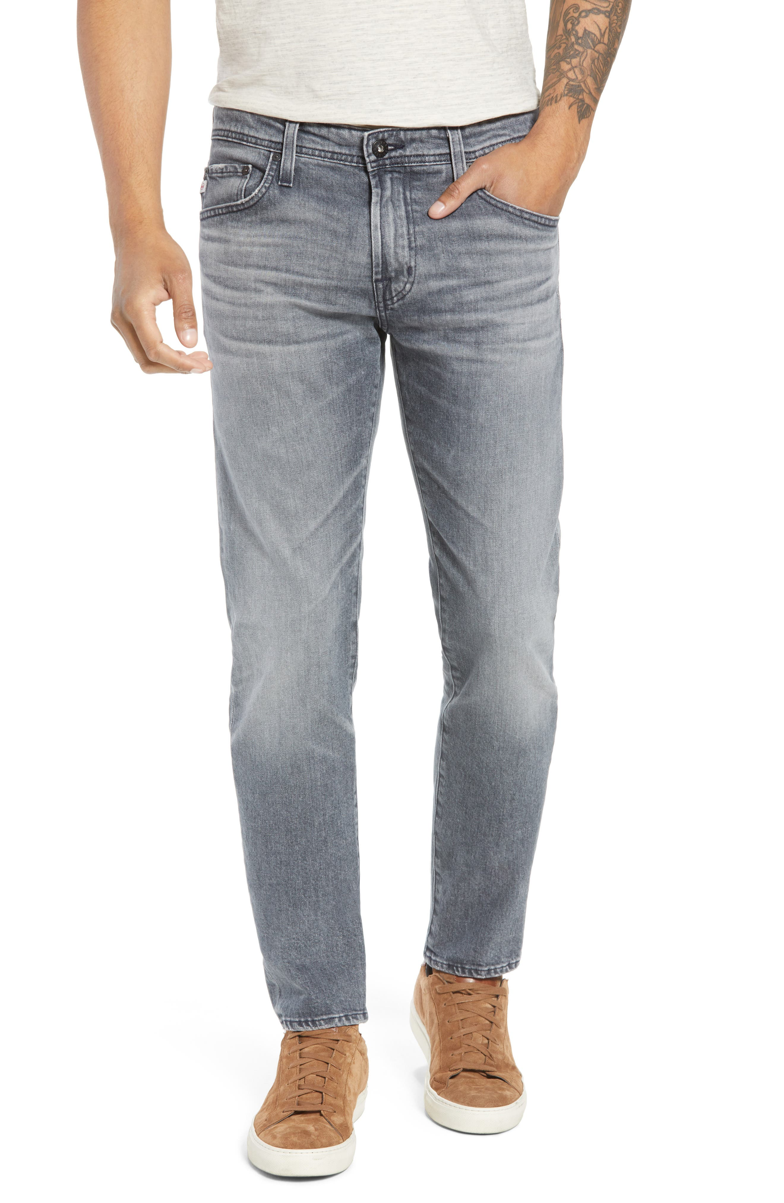 Tellis Slim Fit Jeans,                         Main,                         color, 020