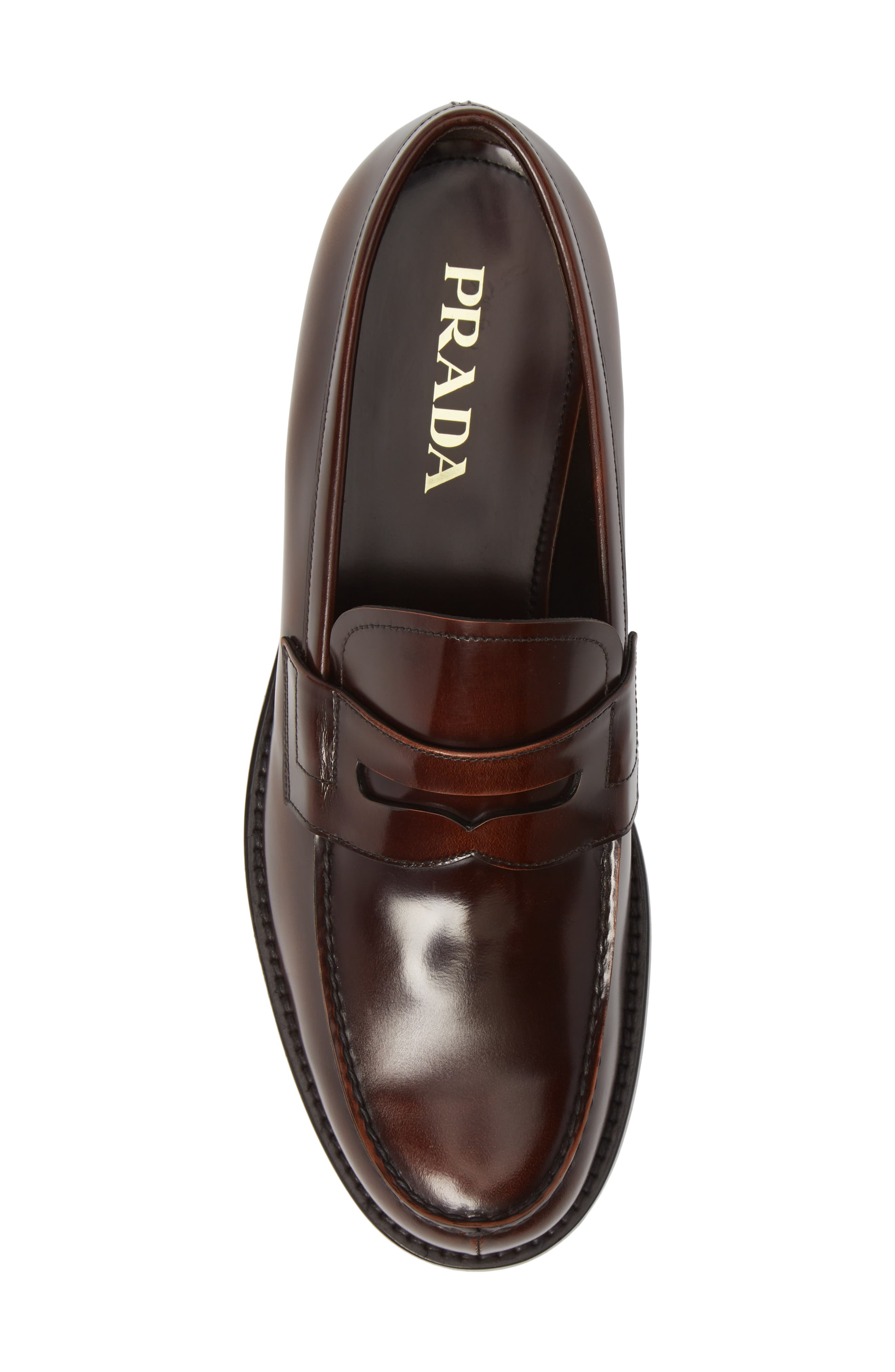 Penny Loafer,                             Alternate thumbnail 5, color,                             TOBACCO