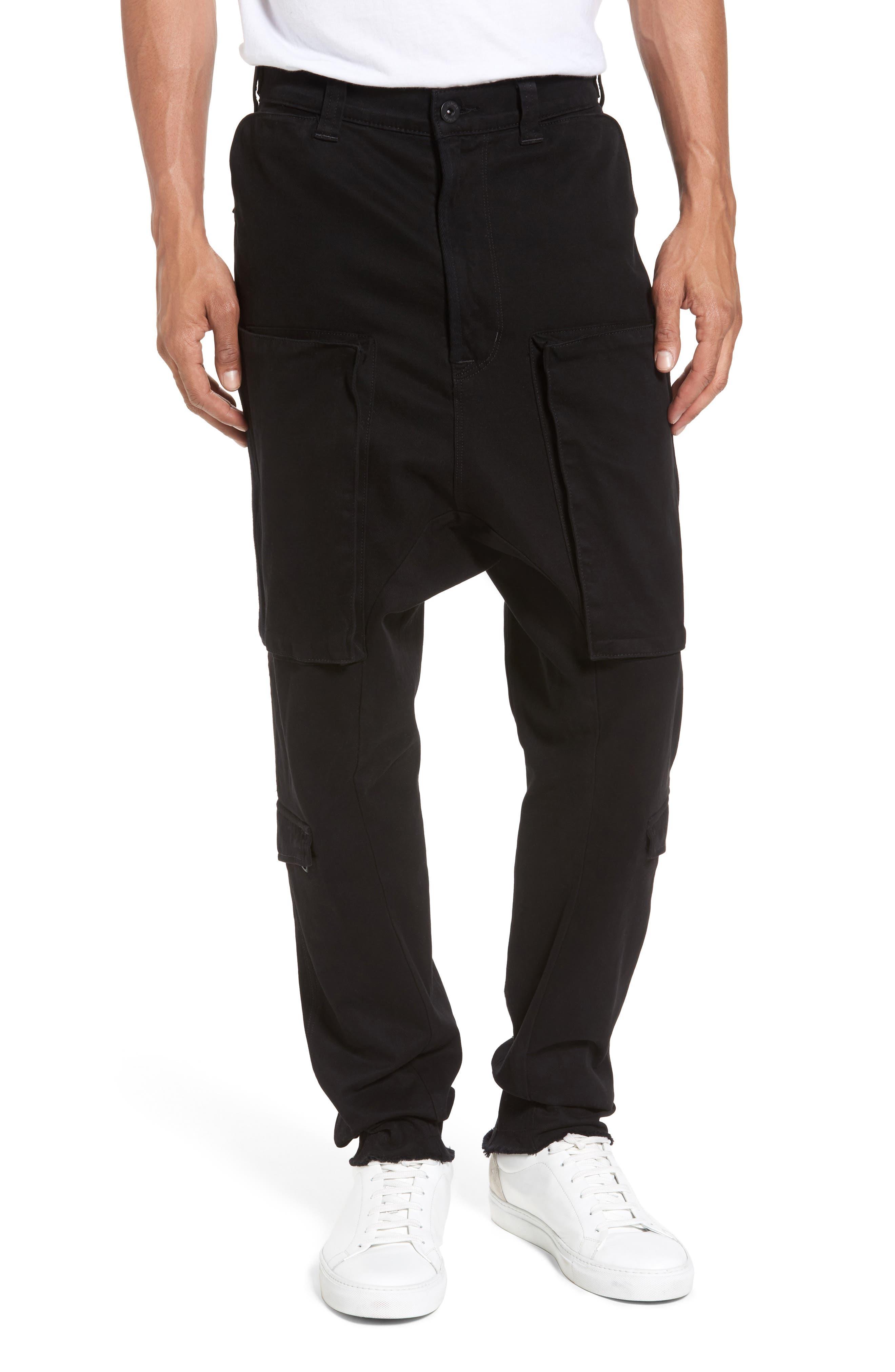 Quint Slouchy Leg Cargo Pants,                         Main,                         color, 001